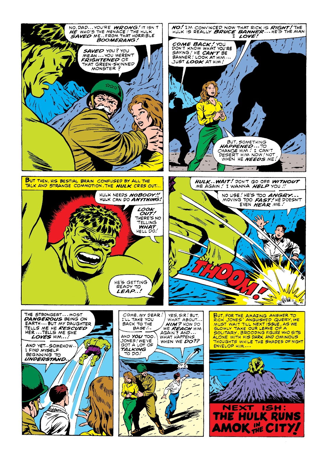 Read online Marvel Masterworks: The Incredible Hulk comic -  Issue # TPB 3 (Part 1) - 50