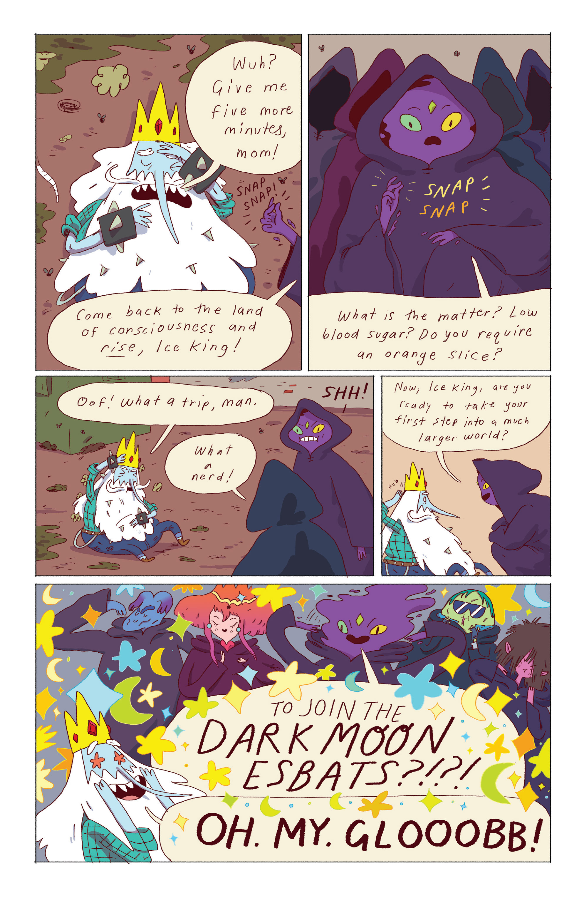 Read online Adventure Time: Ice King comic -  Issue #3 - 4