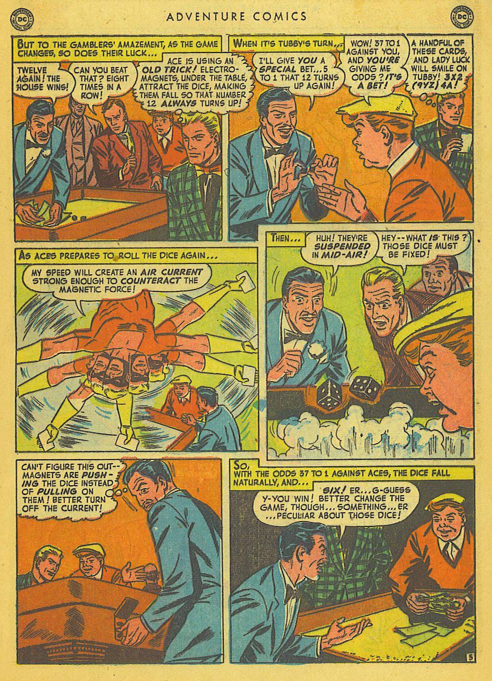Read online Adventure Comics (1938) comic -  Issue #153 - 30