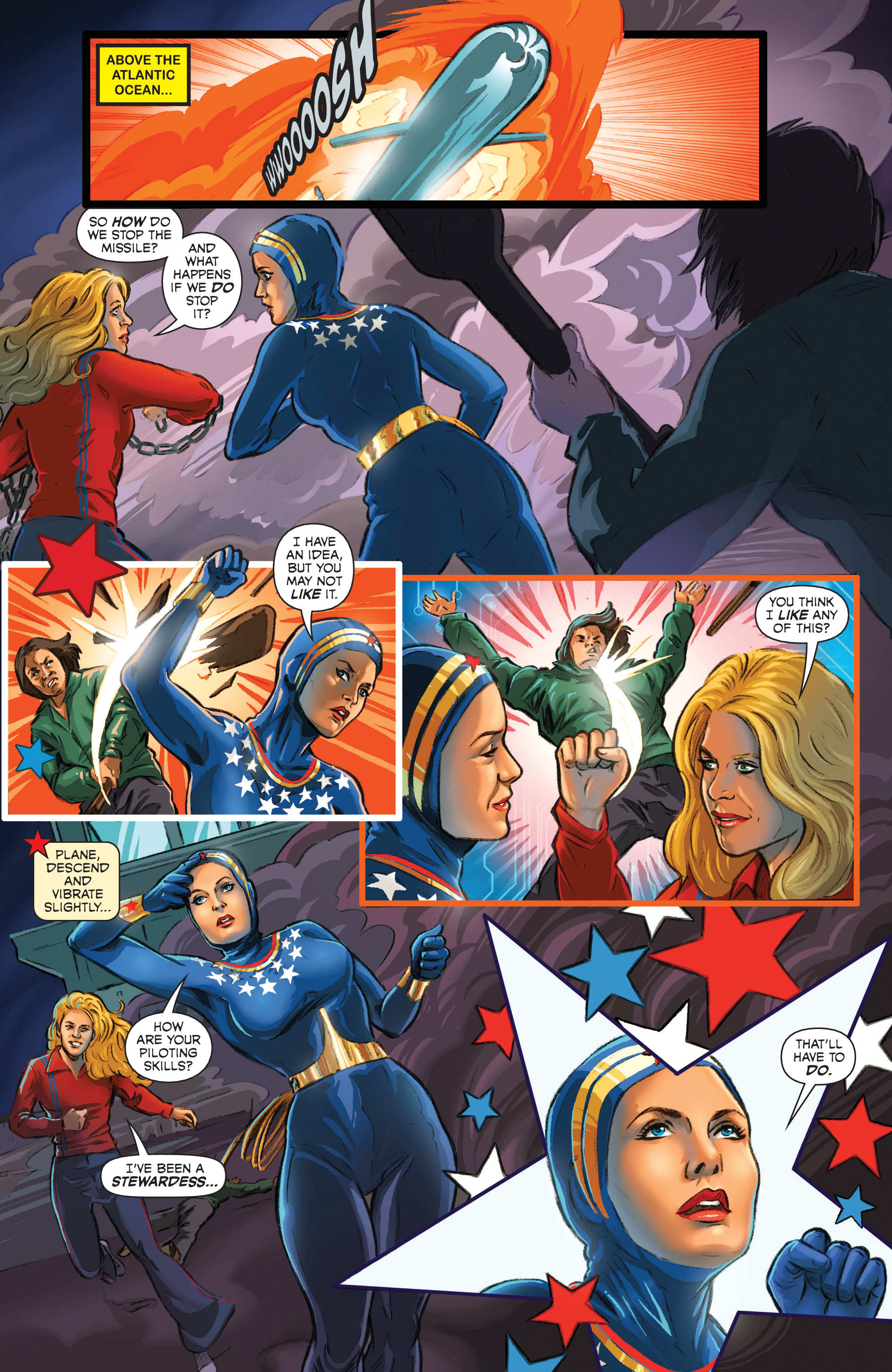Read online Wonder Woman '77 Meets The Bionic Woman comic -  Issue #3 - 4
