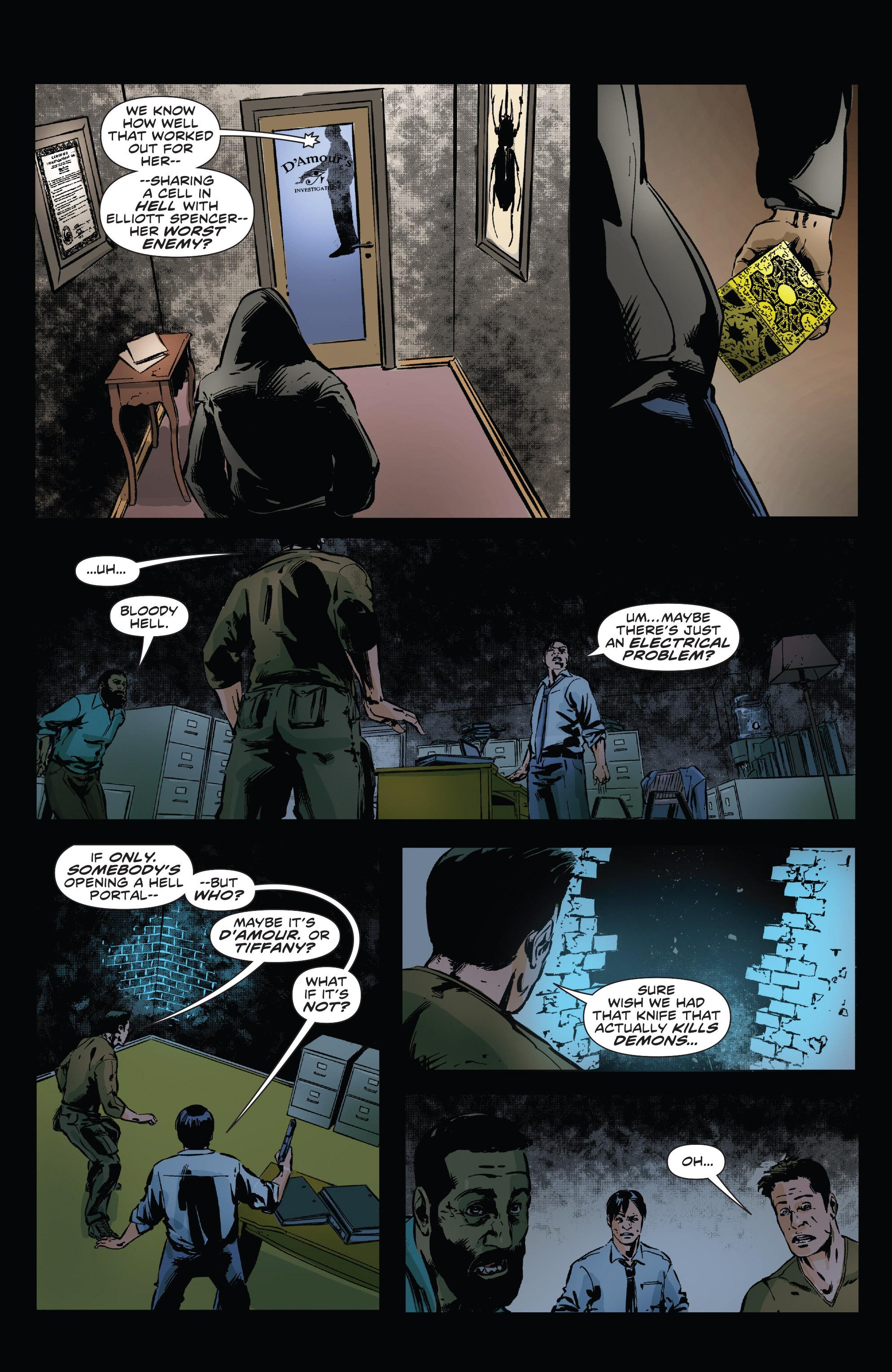 Read online Clive Barker's Hellraiser: The Dark Watch comic -  Issue # TPB 3 - 40