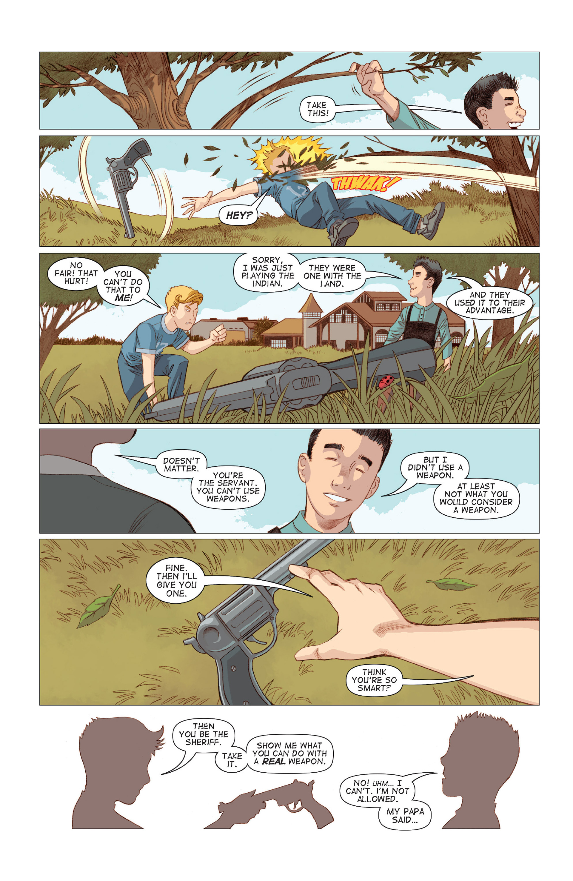 Read online Five Weapons comic -  Issue #7 - 19