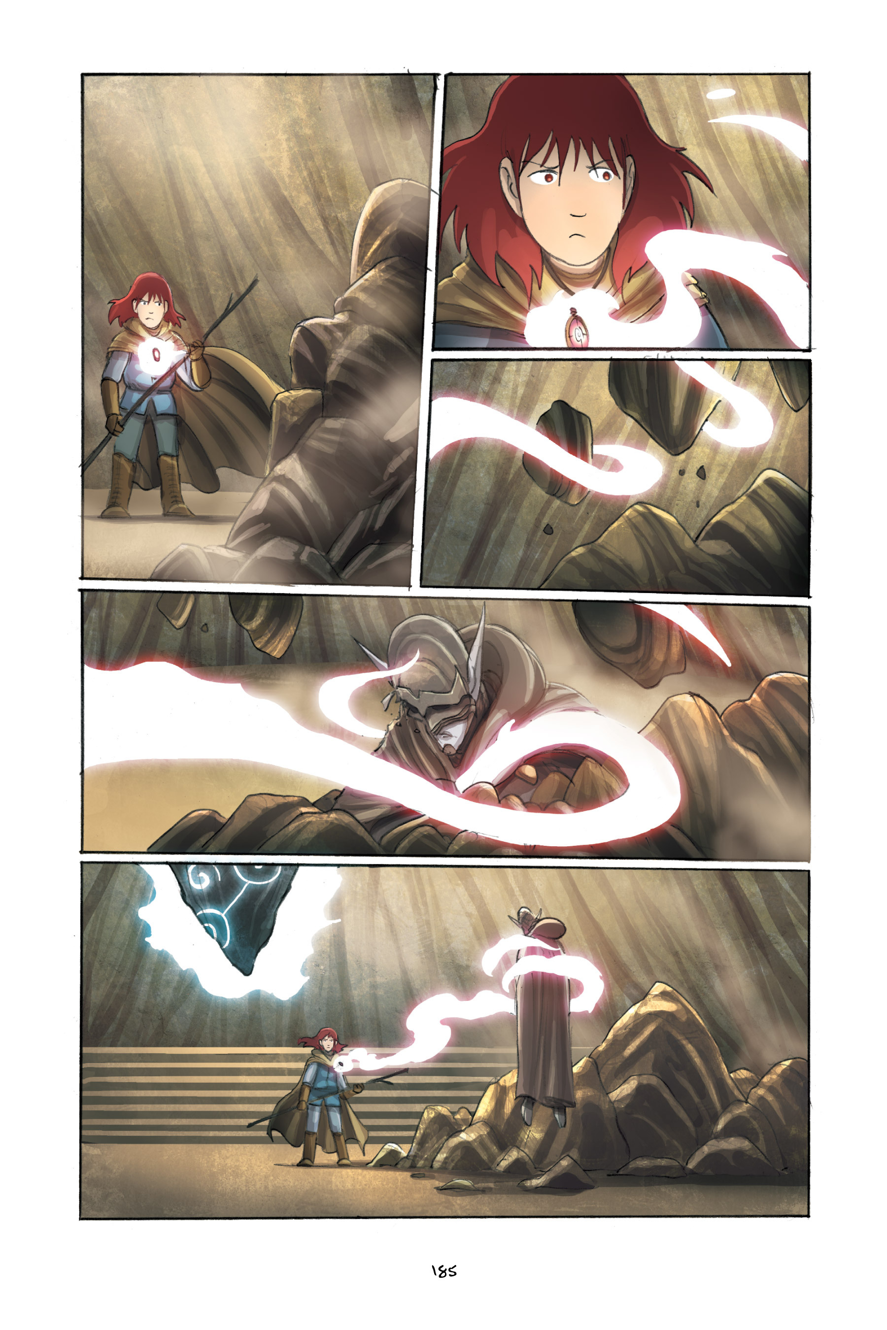 Read online Amulet comic -  Issue #3 - 181