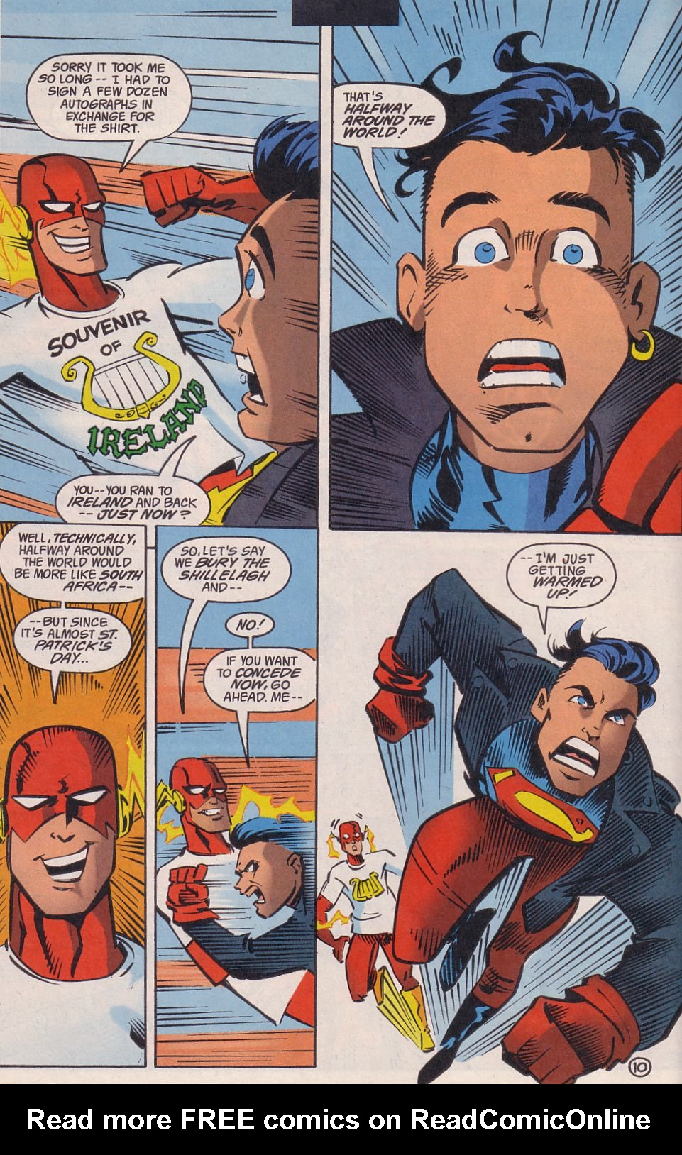 Read online Adventures in the DC Universe comic -  Issue #14 - 11