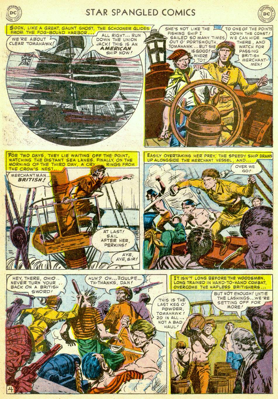 Star Spangled Comics (1941) issue 123 - Page 36