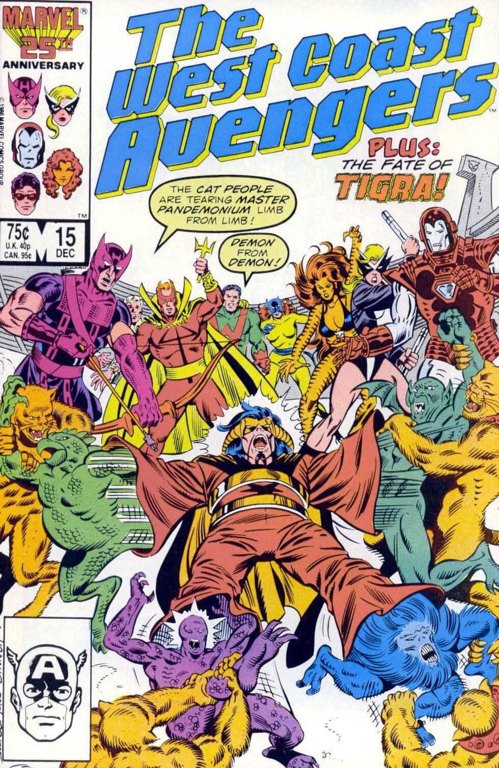 West Coast Avengers (1985) 15 Page 1