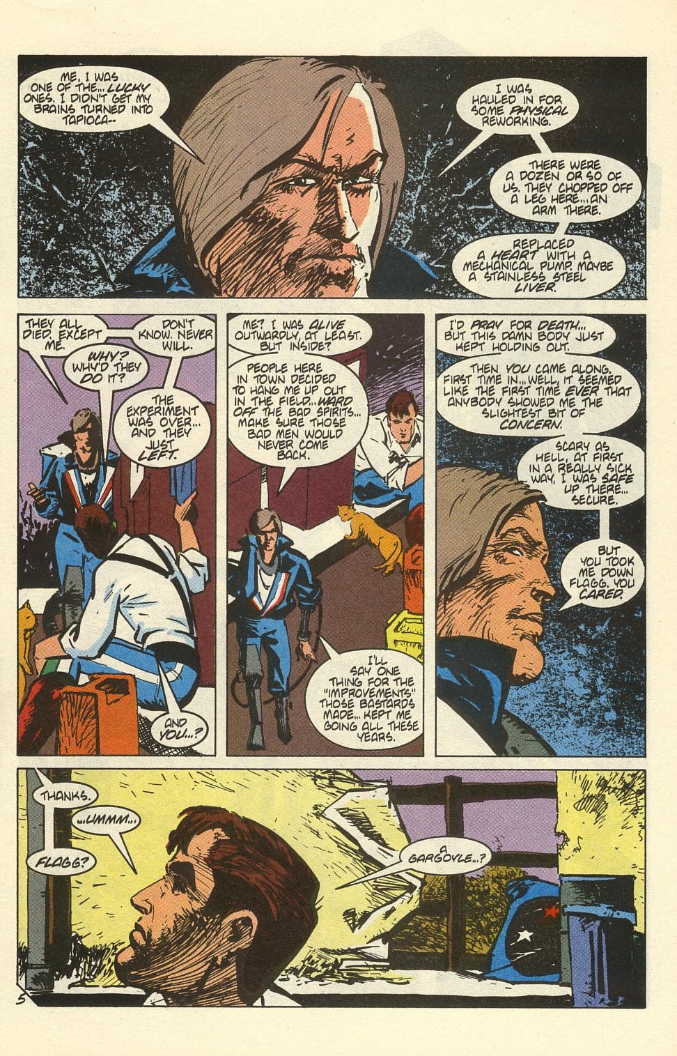 Read online American Flagg! comic -  Issue #41 - 7