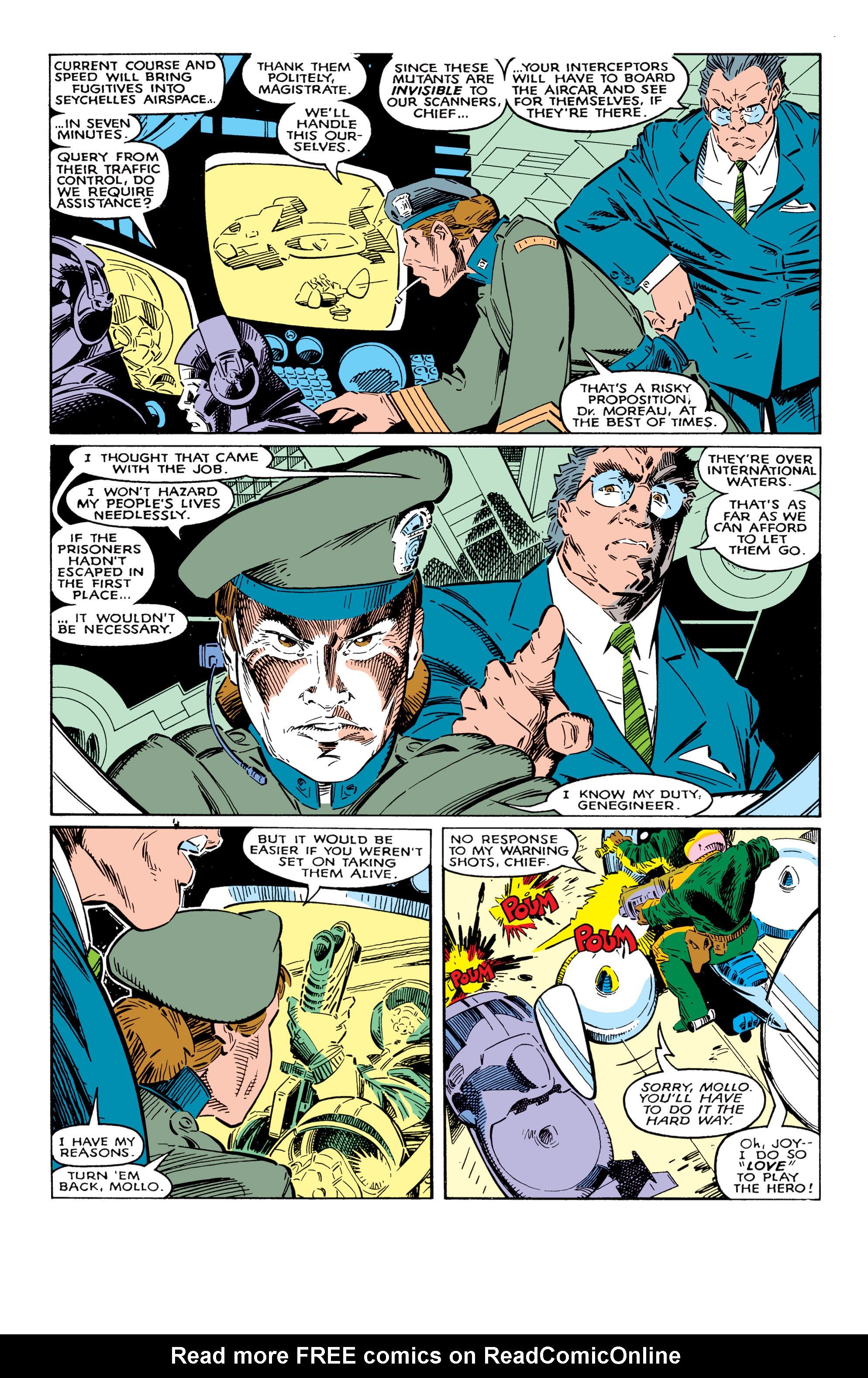 Read online Uncanny X-Men (1963) comic -  Issue #237 - 3