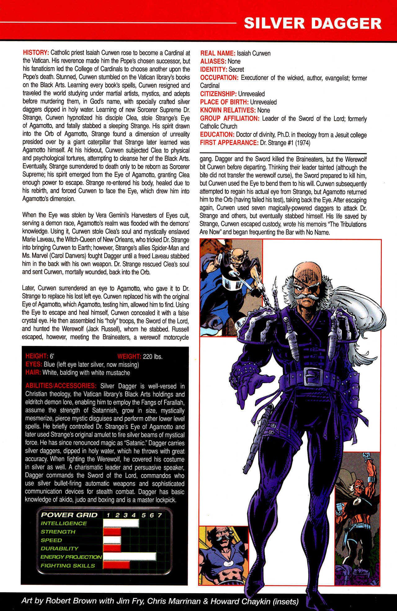 Read online All-New Official Handbook of the Marvel Universe A to Z comic -  Issue #10 - 15
