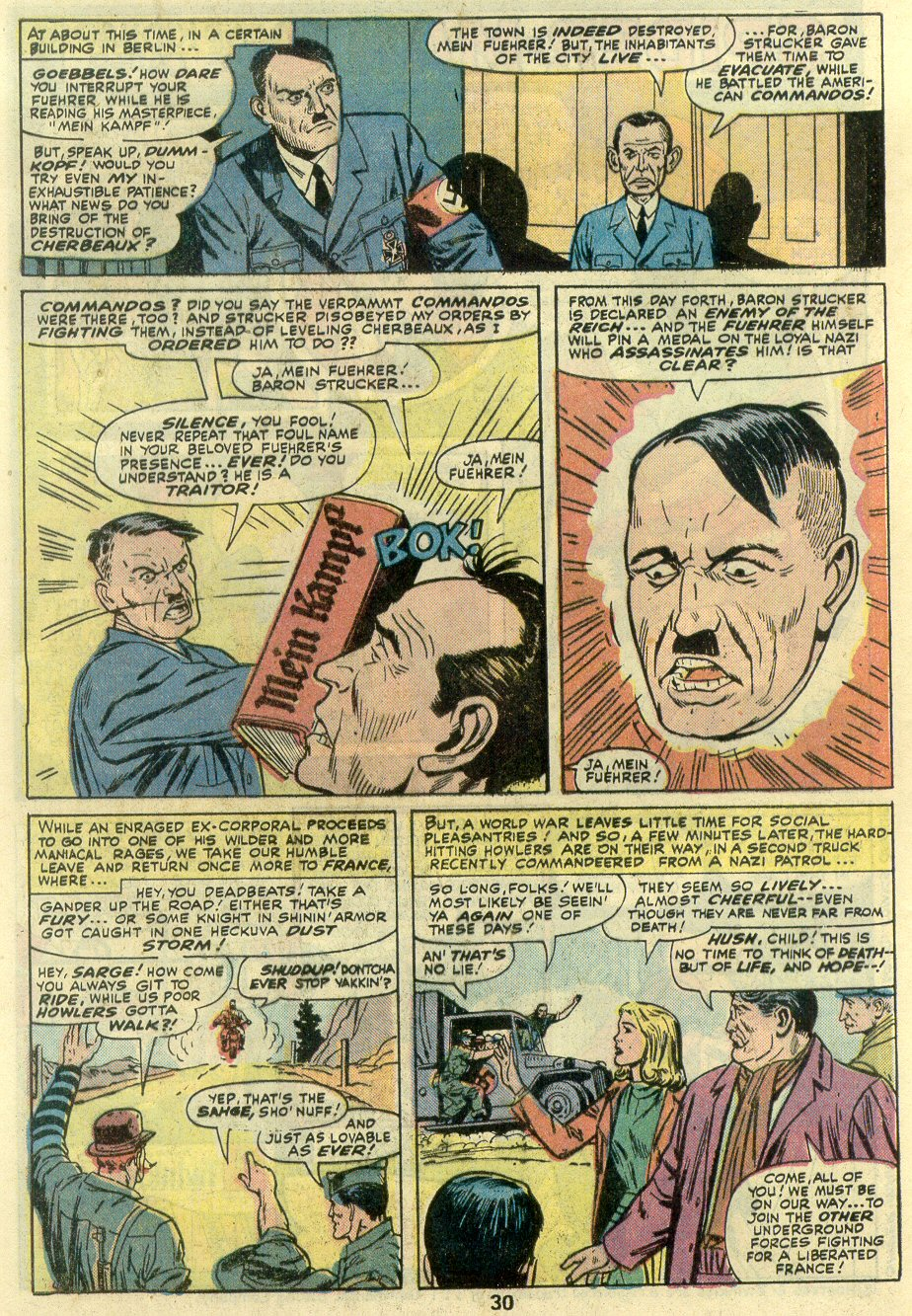Read online Sgt. Fury comic -  Issue #131 - 32
