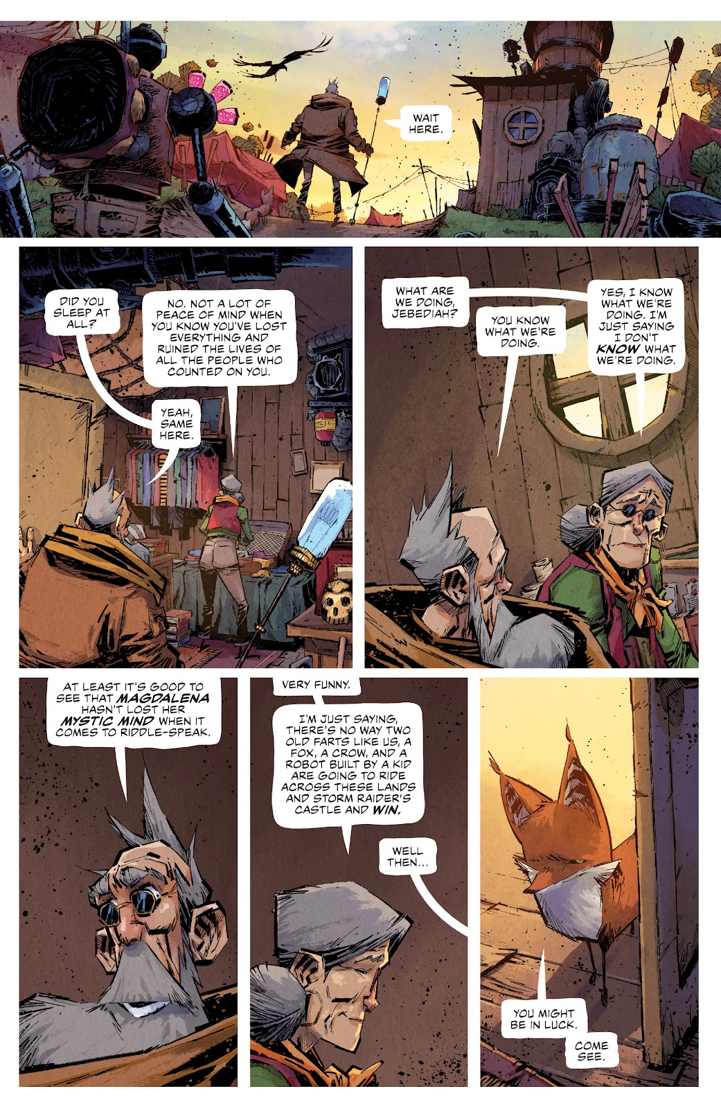 Read online Middlewest comic -  Issue #13 - 20