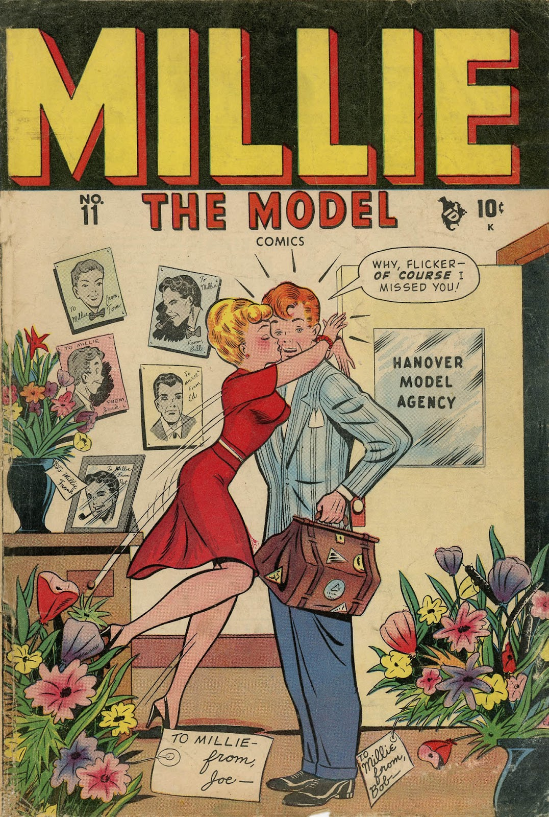 Read online Millie the Model comic -  Issue #11 - 1