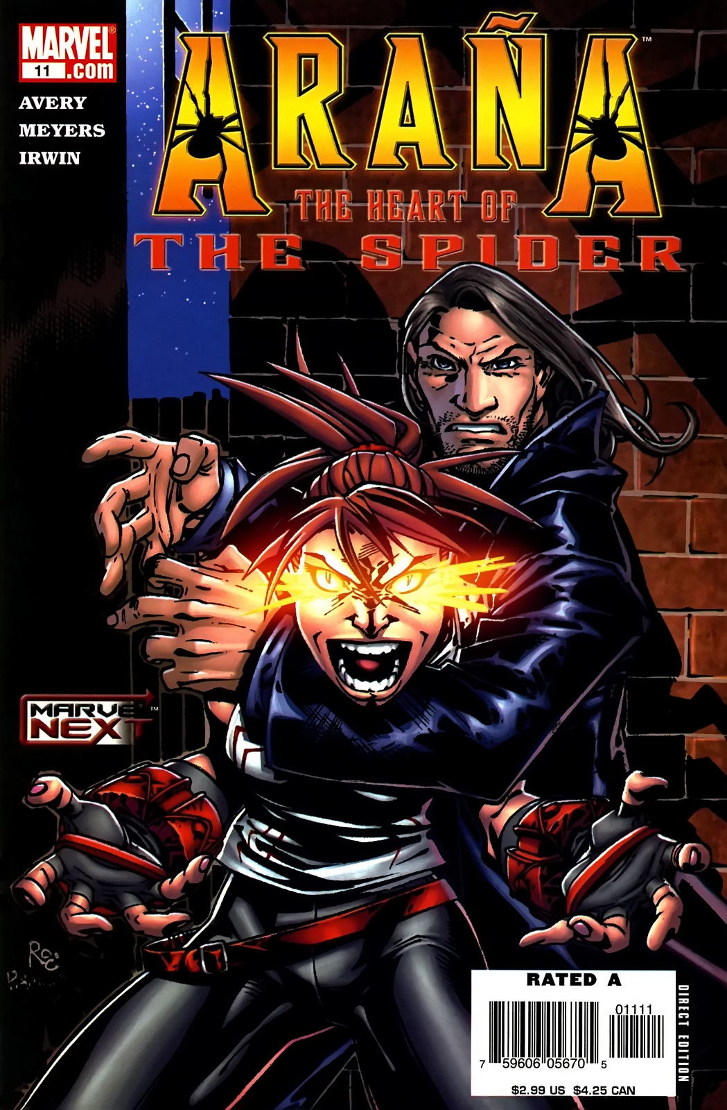 Read online Araña: Heart of the Spider comic -  Issue #11 - 1