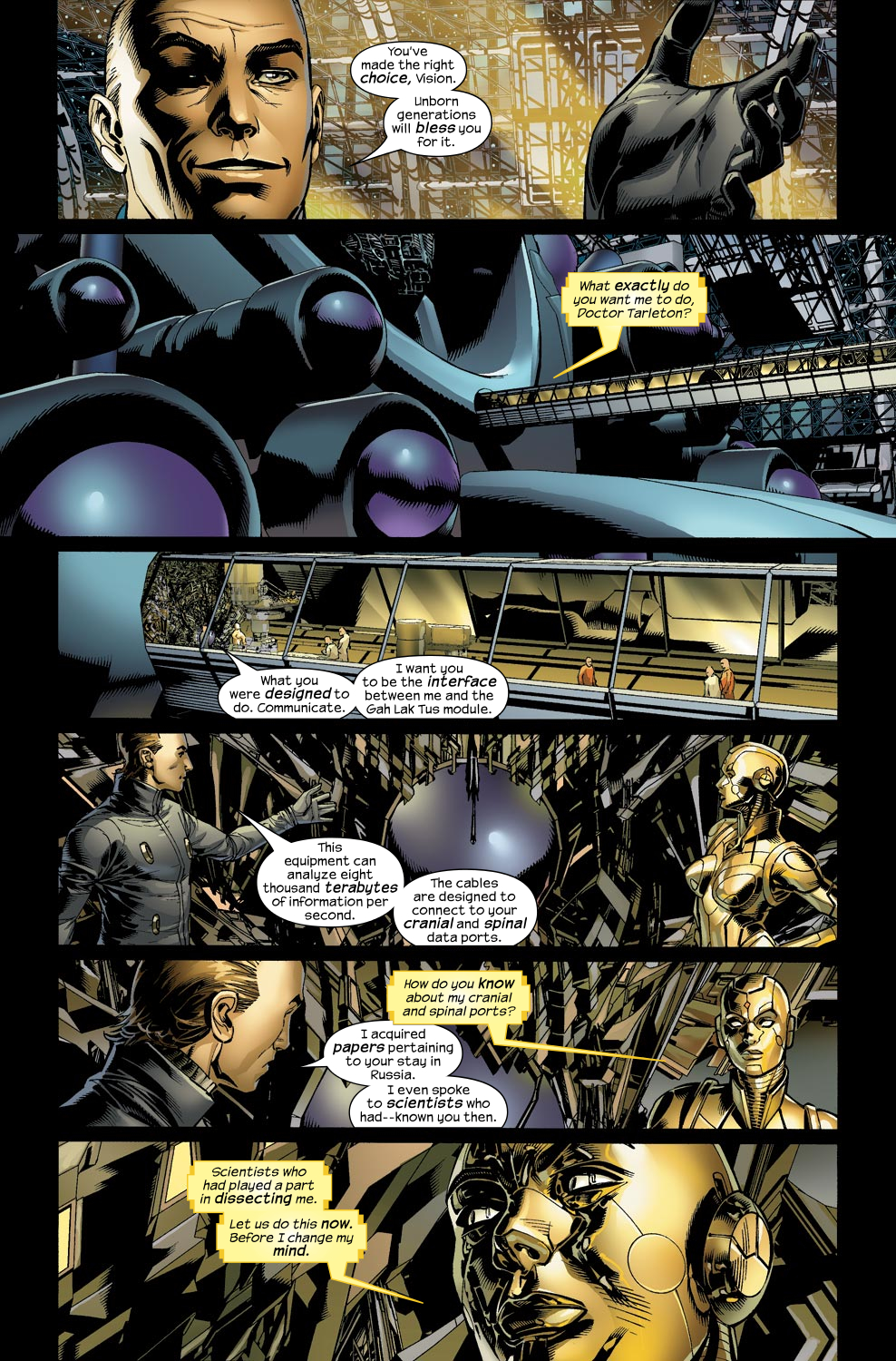 Read online Ultimate Vision comic -  Issue #1 - 18