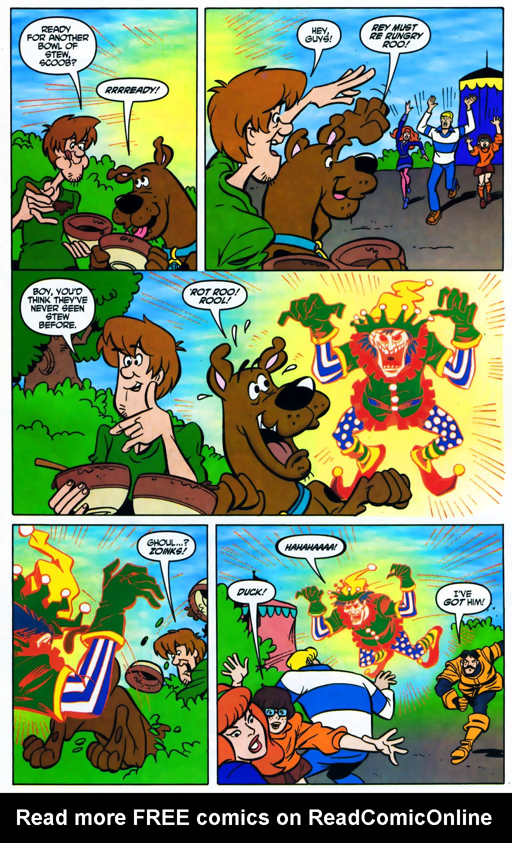 Read online Scooby-Doo (1997) comic -  Issue #87 - 18
