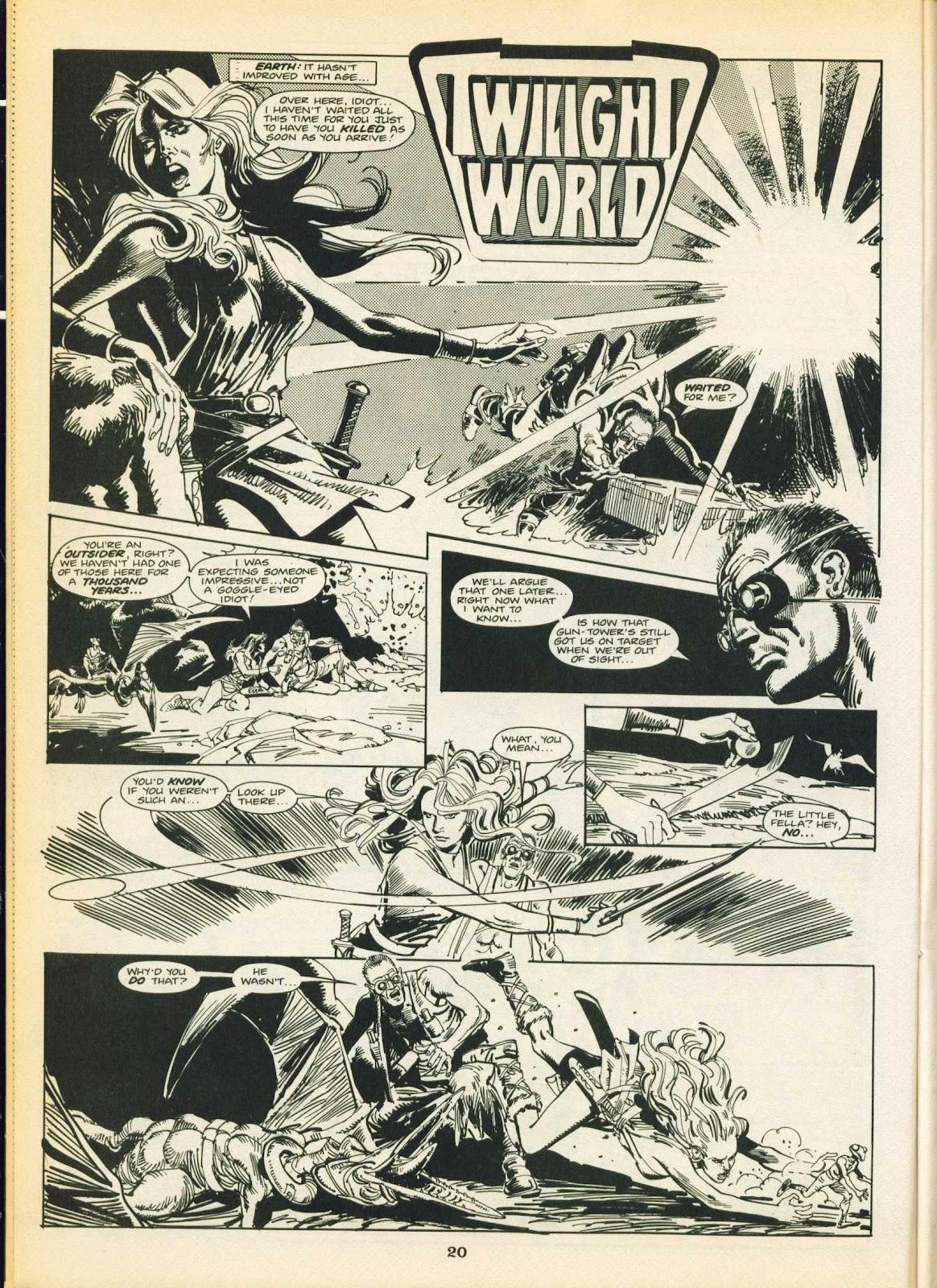 Warrior Issue #16 #17 - English 20
