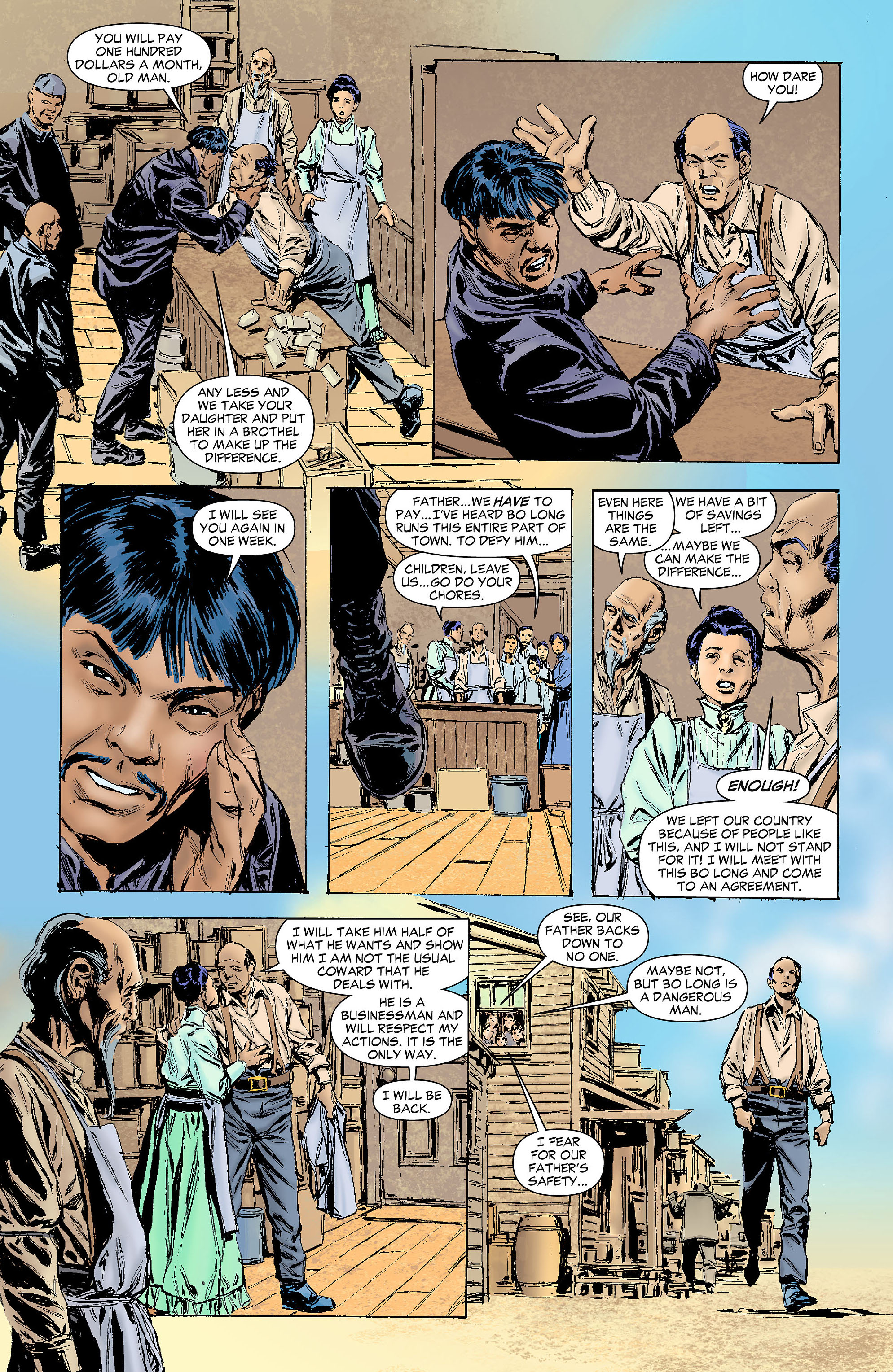 Read online All-Star Western (2011) comic -  Issue #4 - 27