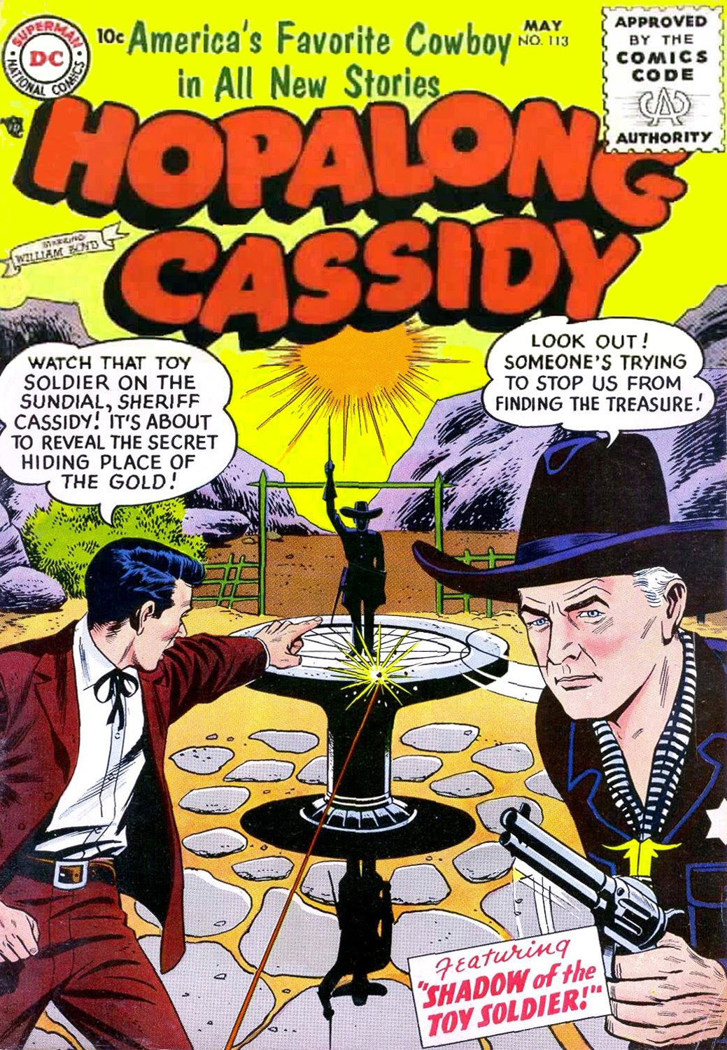 Hopalong Cassidy issue 113 - Page 1