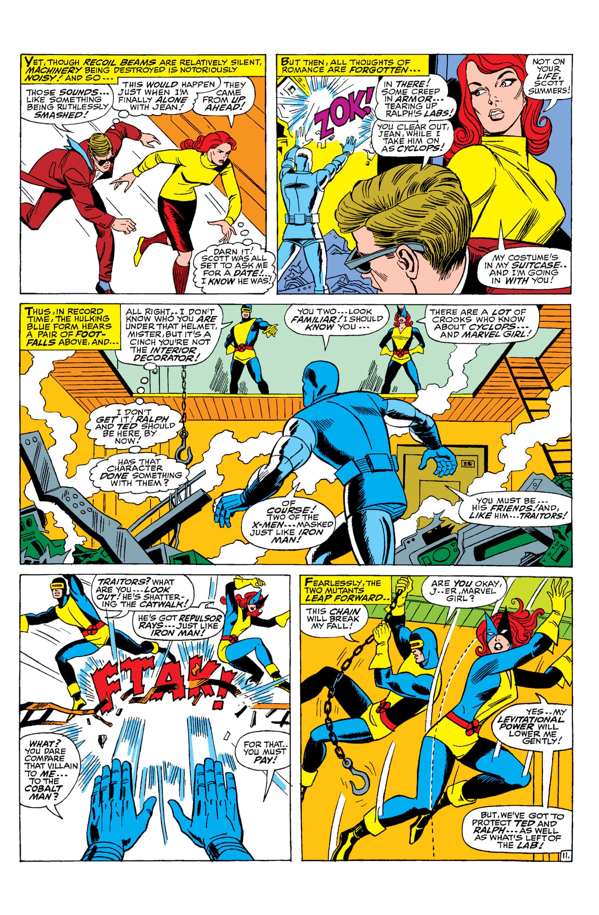 Read online Uncanny X-Men (1963) comic -  Issue #31 - 12