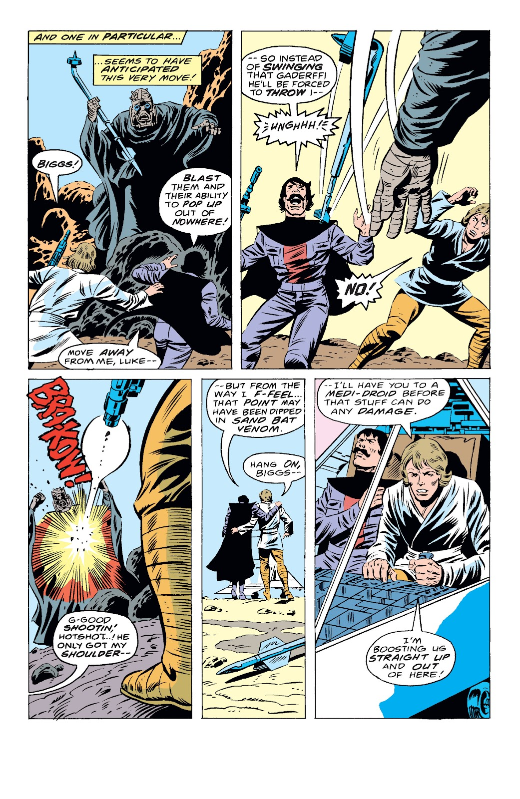 Read online Star Wars Legends: The Original Marvel Years - Epic Collection comic -  Issue # TPB 1 (Part 4) - 9
