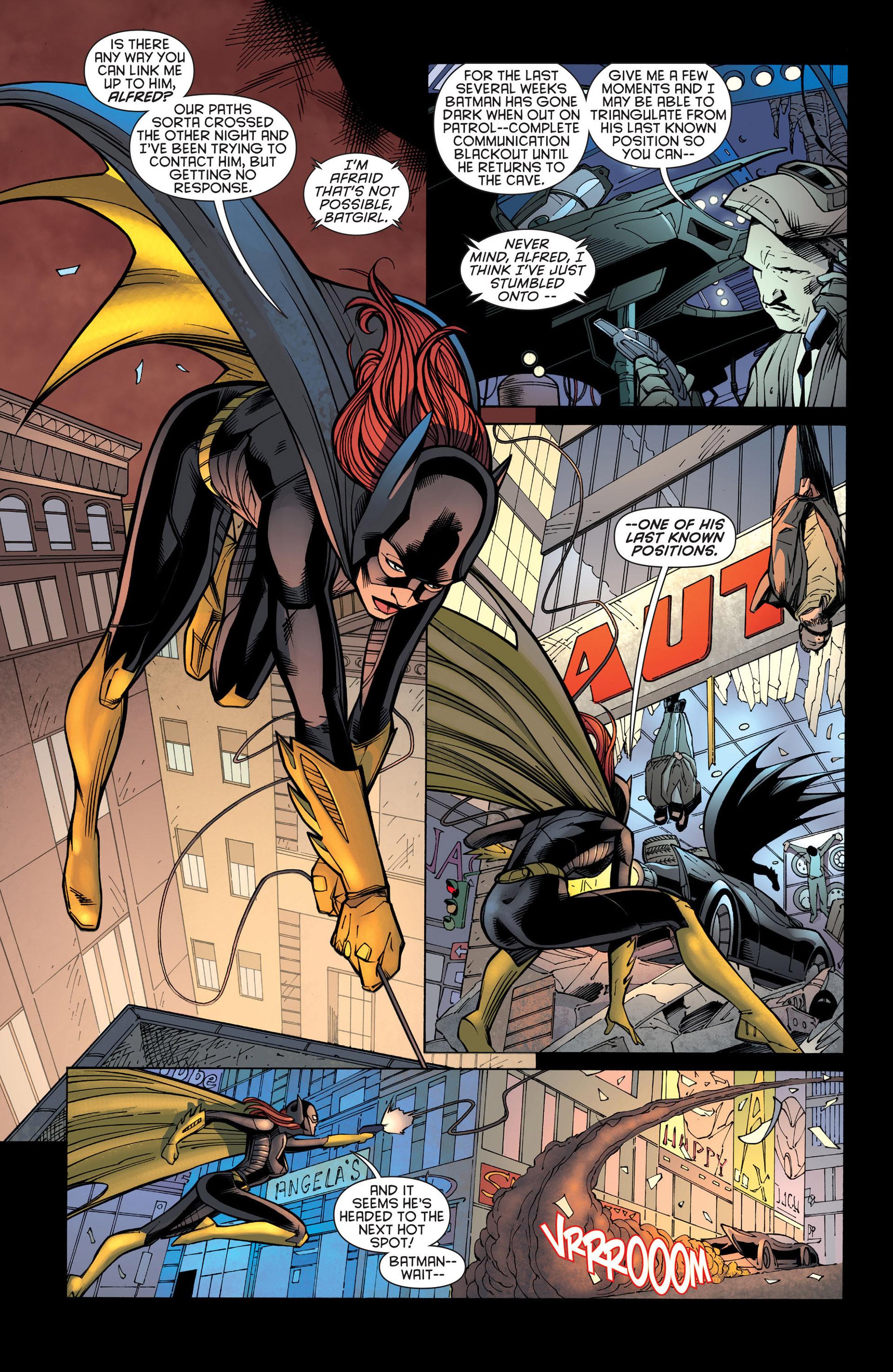 Read online Batman and Robin (2011) comic -  Issue #21 - Batman and Batgirl - 10