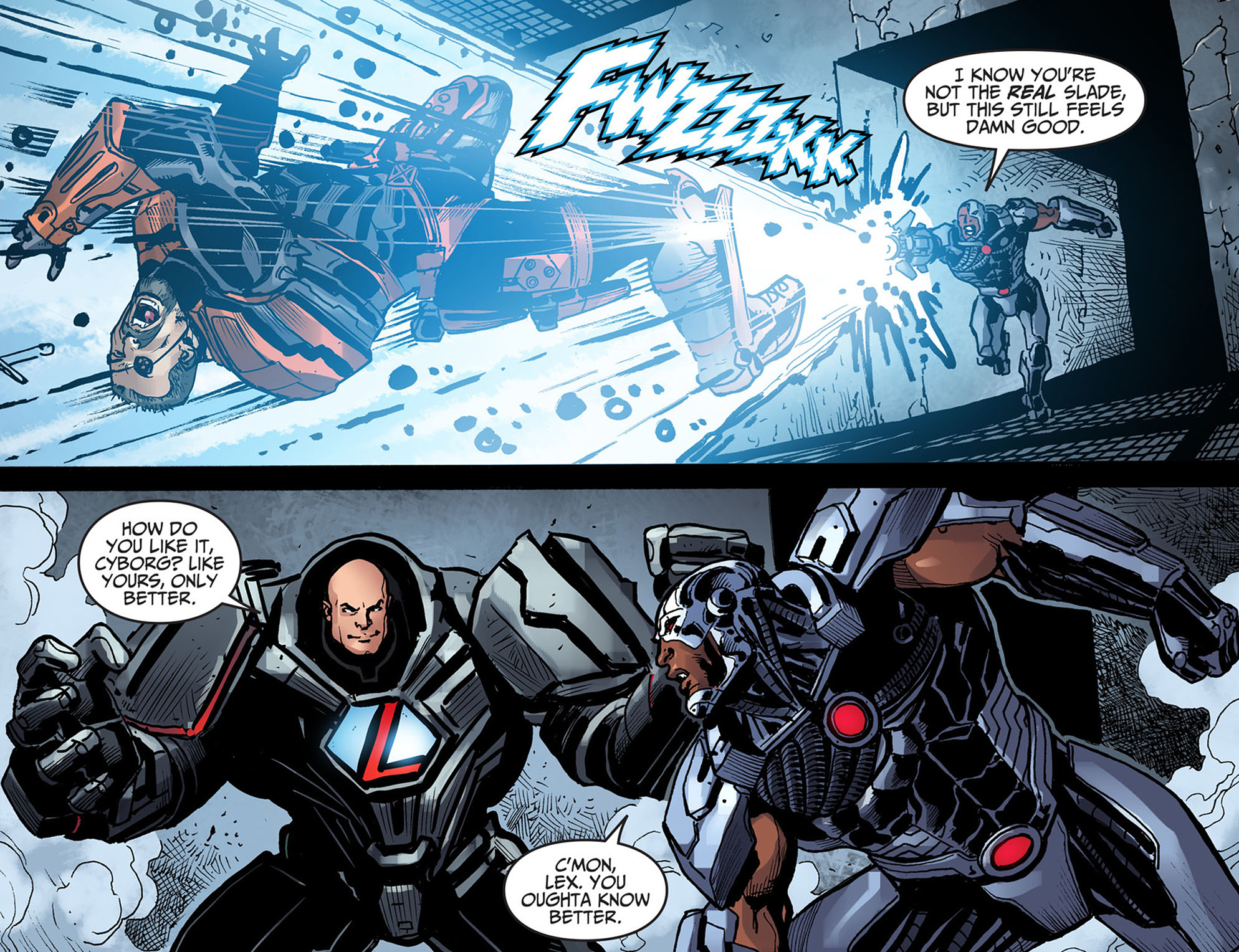 Read online Injustice: Ground Zero comic -  Issue #13 - 14