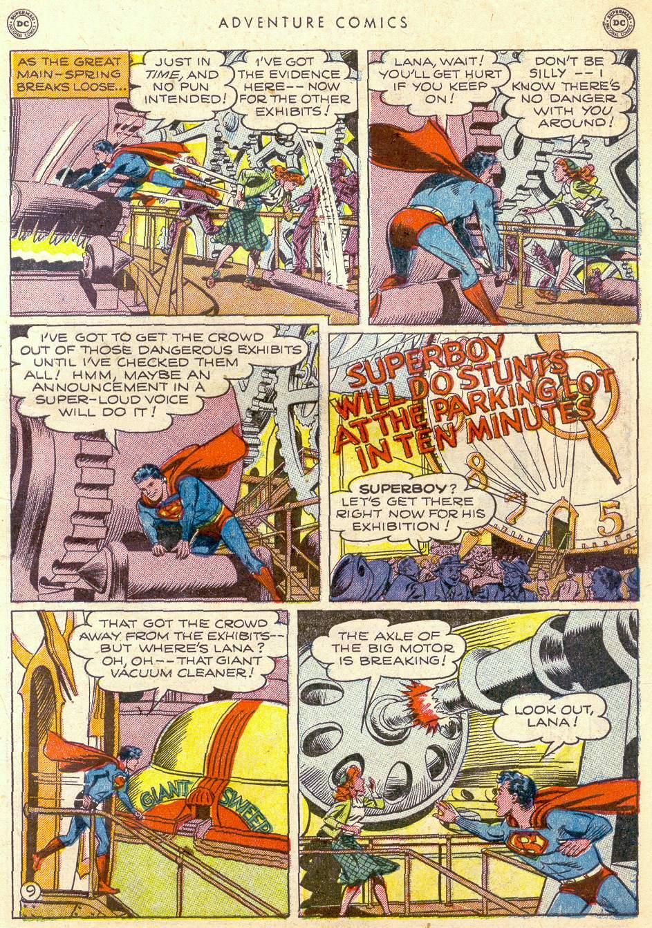 Read online Adventure Comics (1938) comic -  Issue #161 - 11
