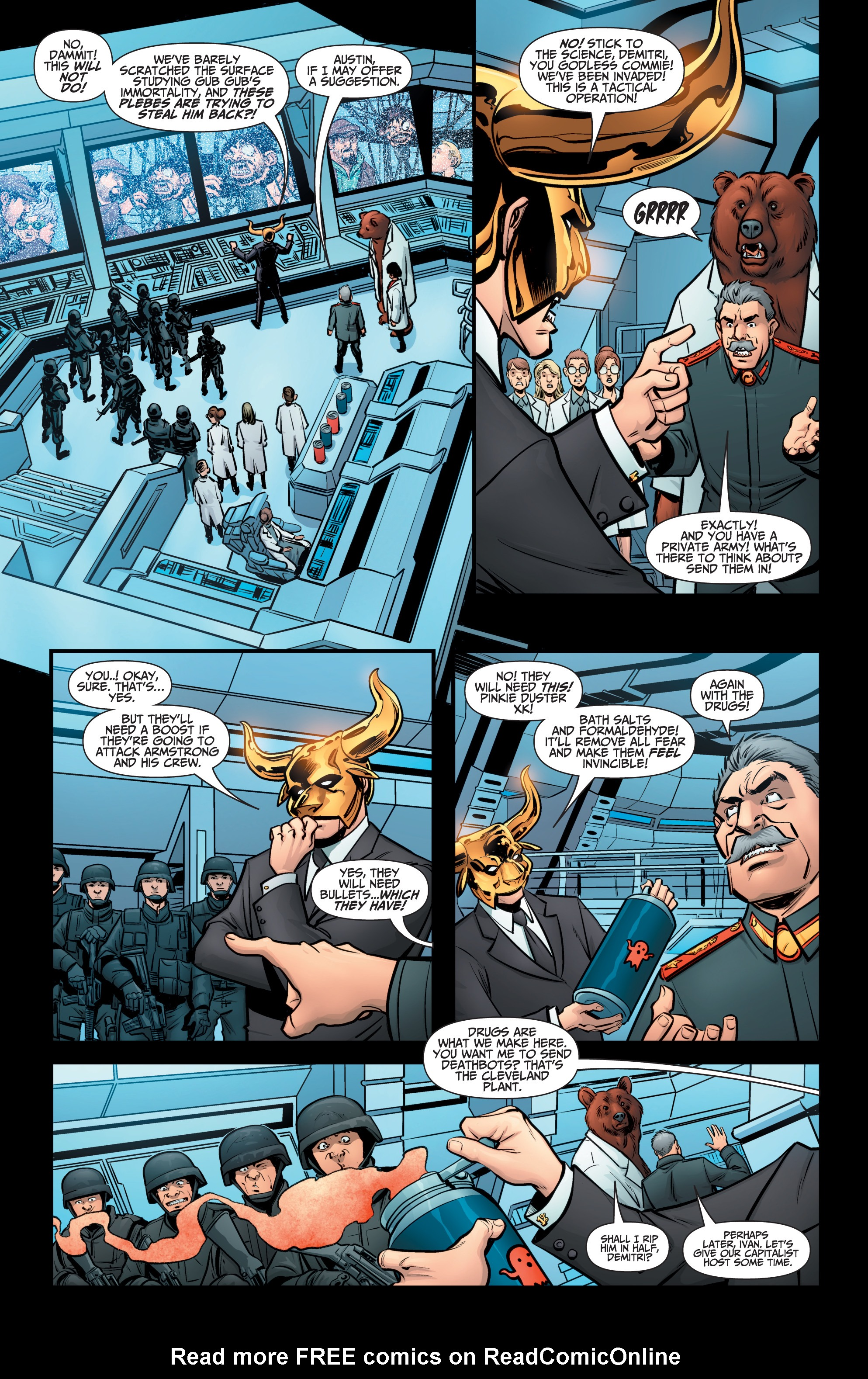 Read online A&A: The Adventures of Archer & Armstrong comic -  Issue #12 - 4