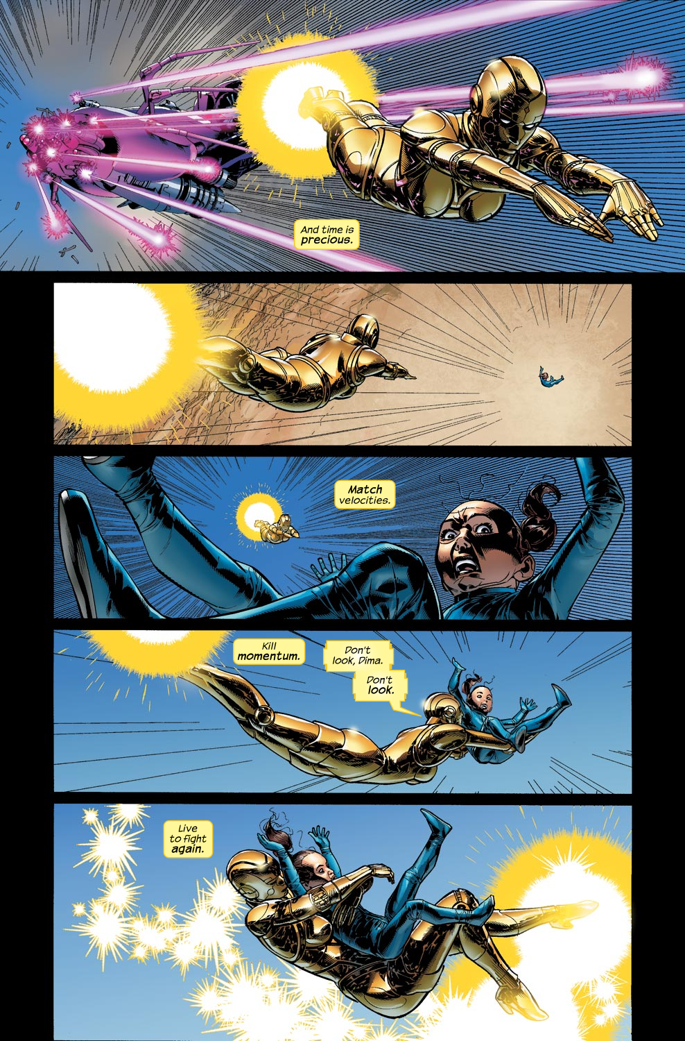 Read online Ultimate Vision comic -  Issue #4 - 7