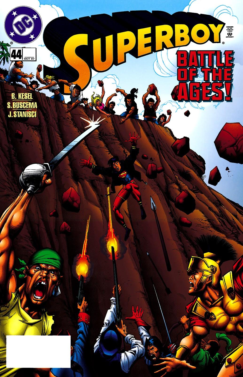 Superboy (1994) 44 Page 1
