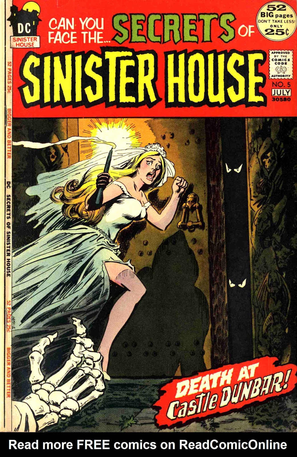 Secrets of Sinister House (1972) 5 Page 1