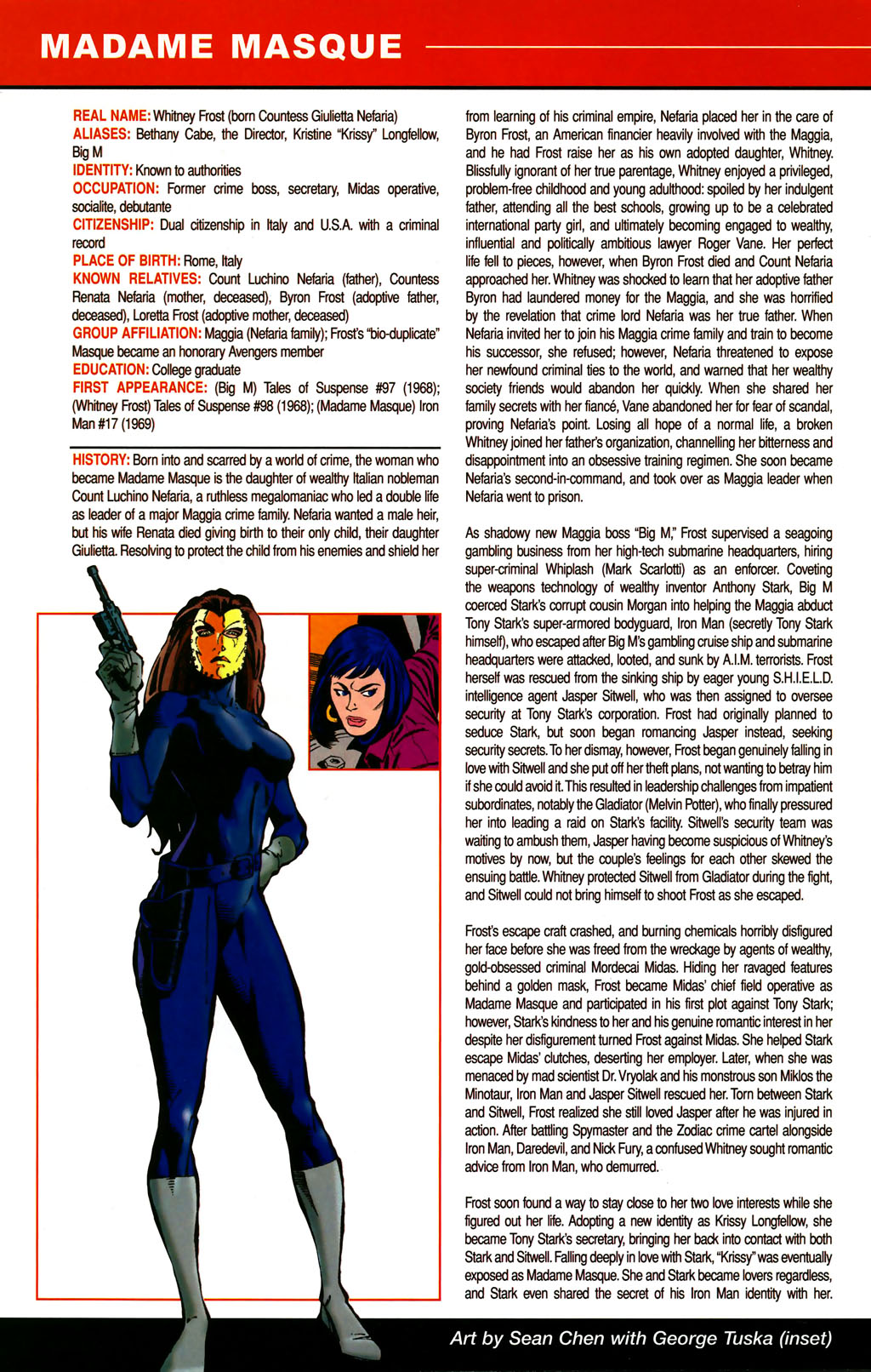 Read online All-New Official Handbook of the Marvel Universe A to Z comic -  Issue #6 - 54