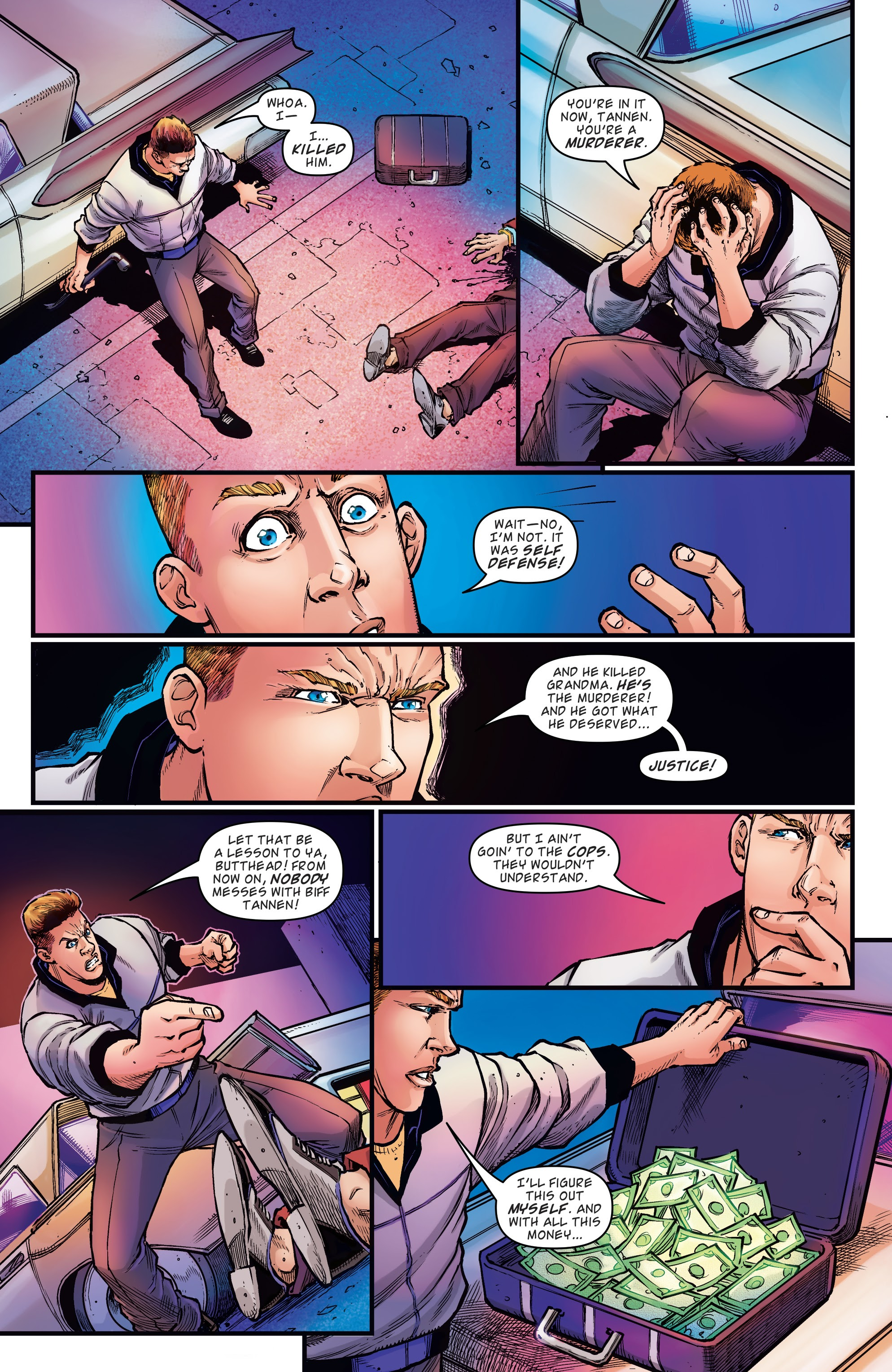 Read online Back to the Future: Biff to the Future comic -  Issue #1 - 16