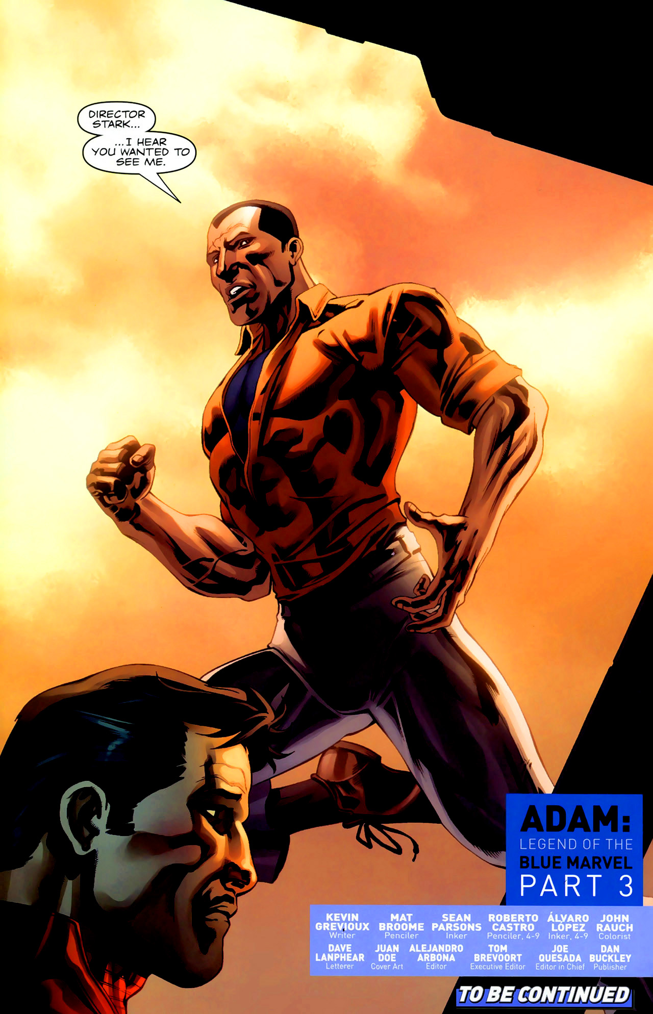 Read online Adam: Legend of the Blue Marvel comic -  Issue #3 - 23