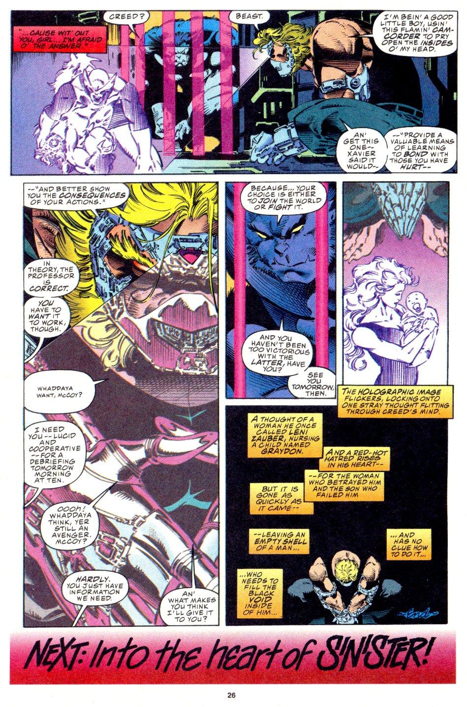 X-Men (1991) 33 Page 19