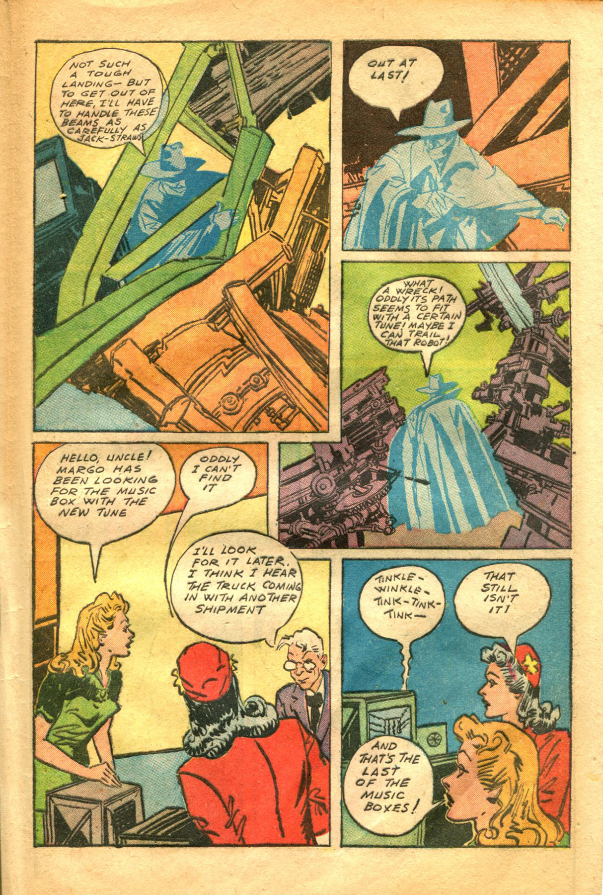 Read online Shadow Comics comic -  Issue #48 - 41