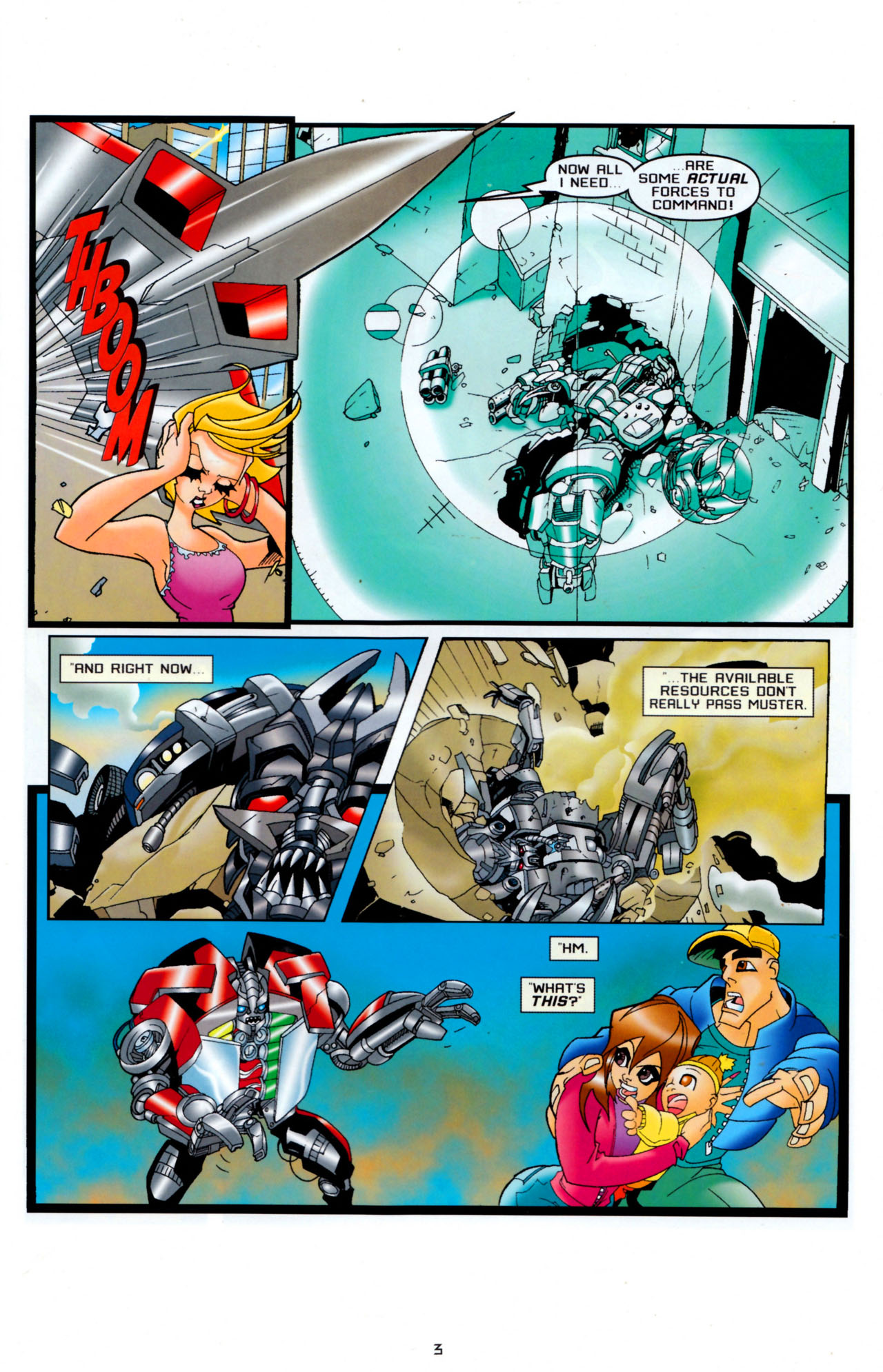 Read online Transformers: Saga of the Allspark comic -  Issue #4 - 6