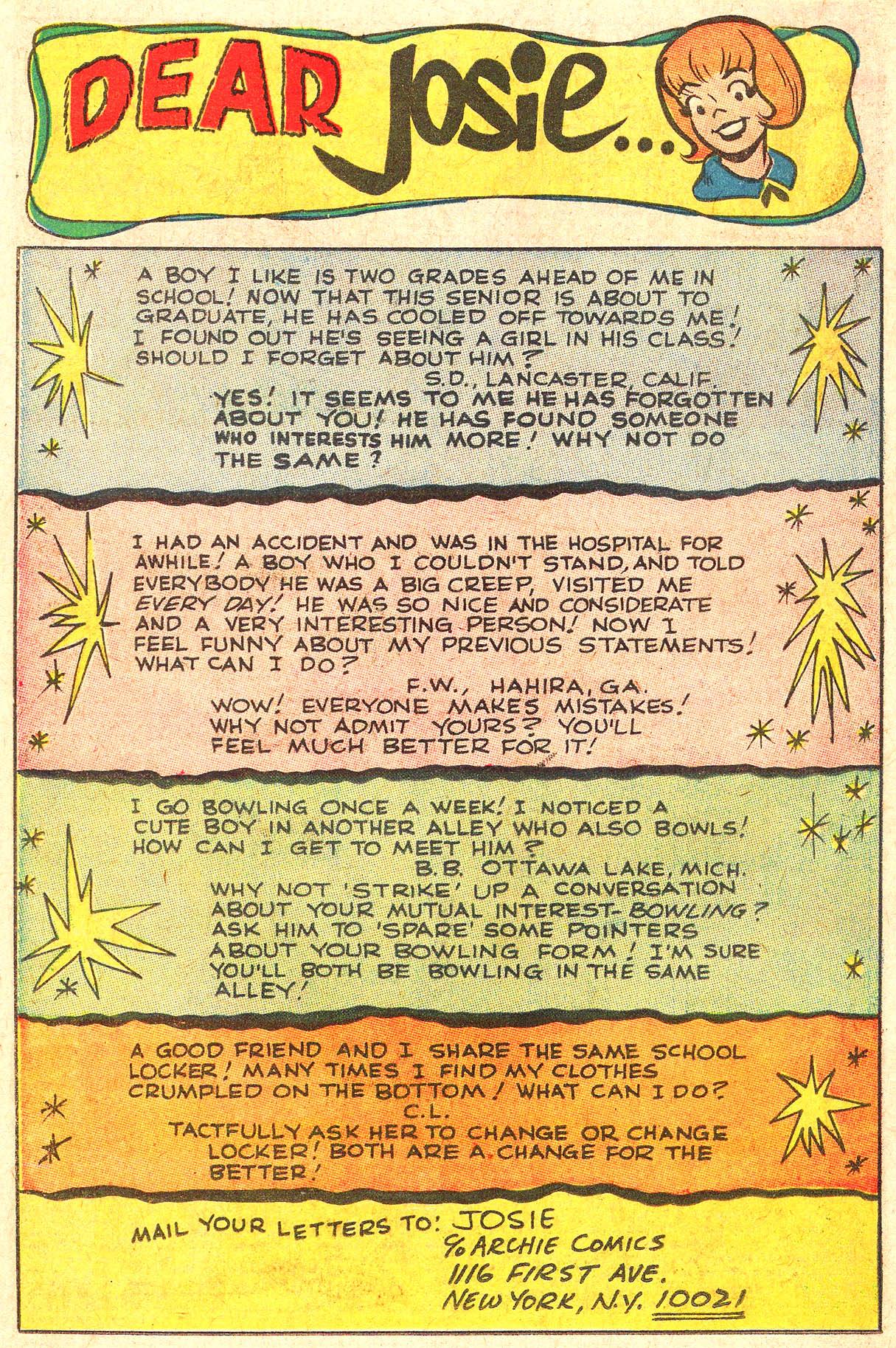 Read online She's Josie comic -  Issue #34 - 26