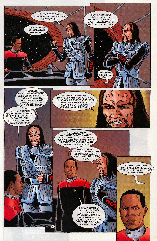 Read online Star Trek: Deep Space Nine - Lightstorm comic -  Issue # Full - 9