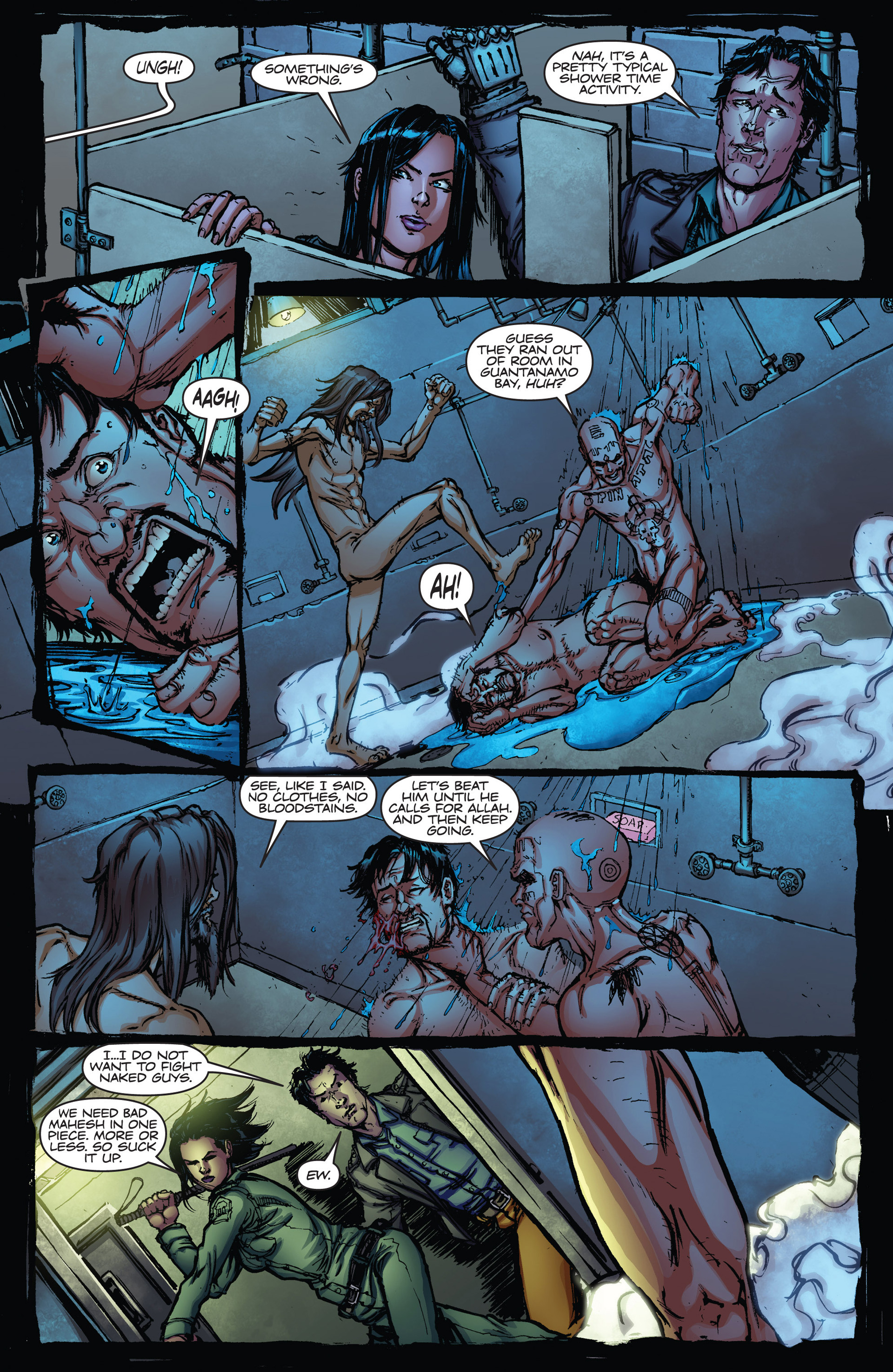 Read online Army of Darkness vs. Hack/Slash comic -  Issue #2 - 14