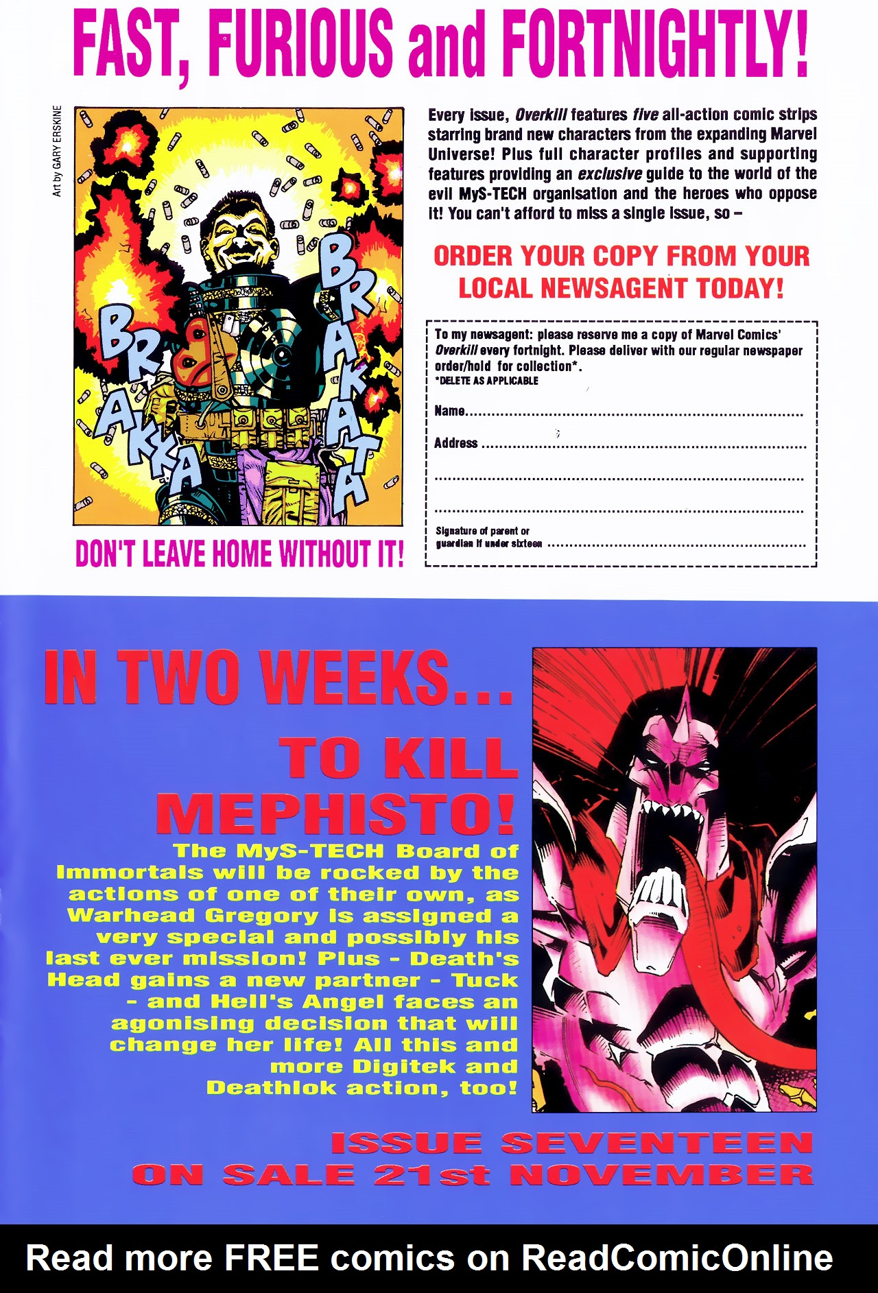 Read online Overkill comic -  Issue #16 - 34