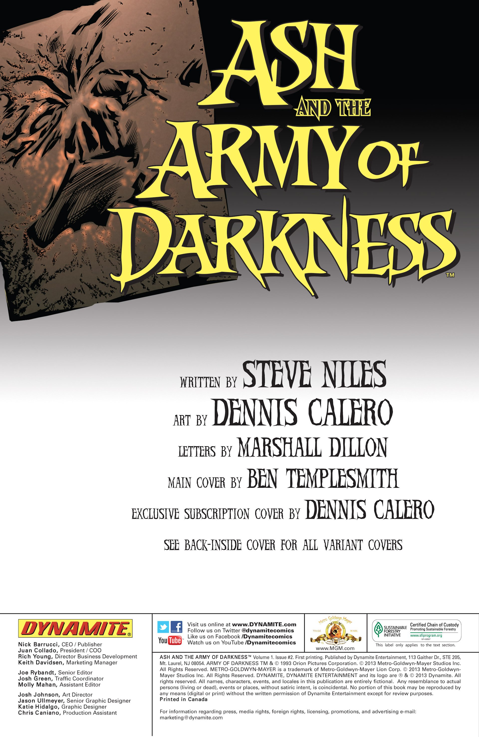 Read online Ash and the Army of Darkness comic -  Issue #2 - 2