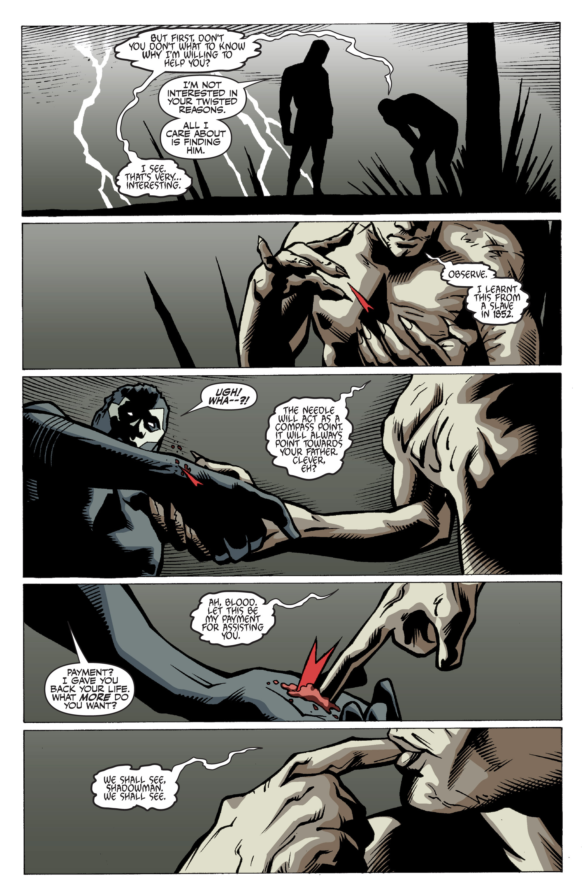 Read online Shadowman: End Times comic -  Issue #3 - 12
