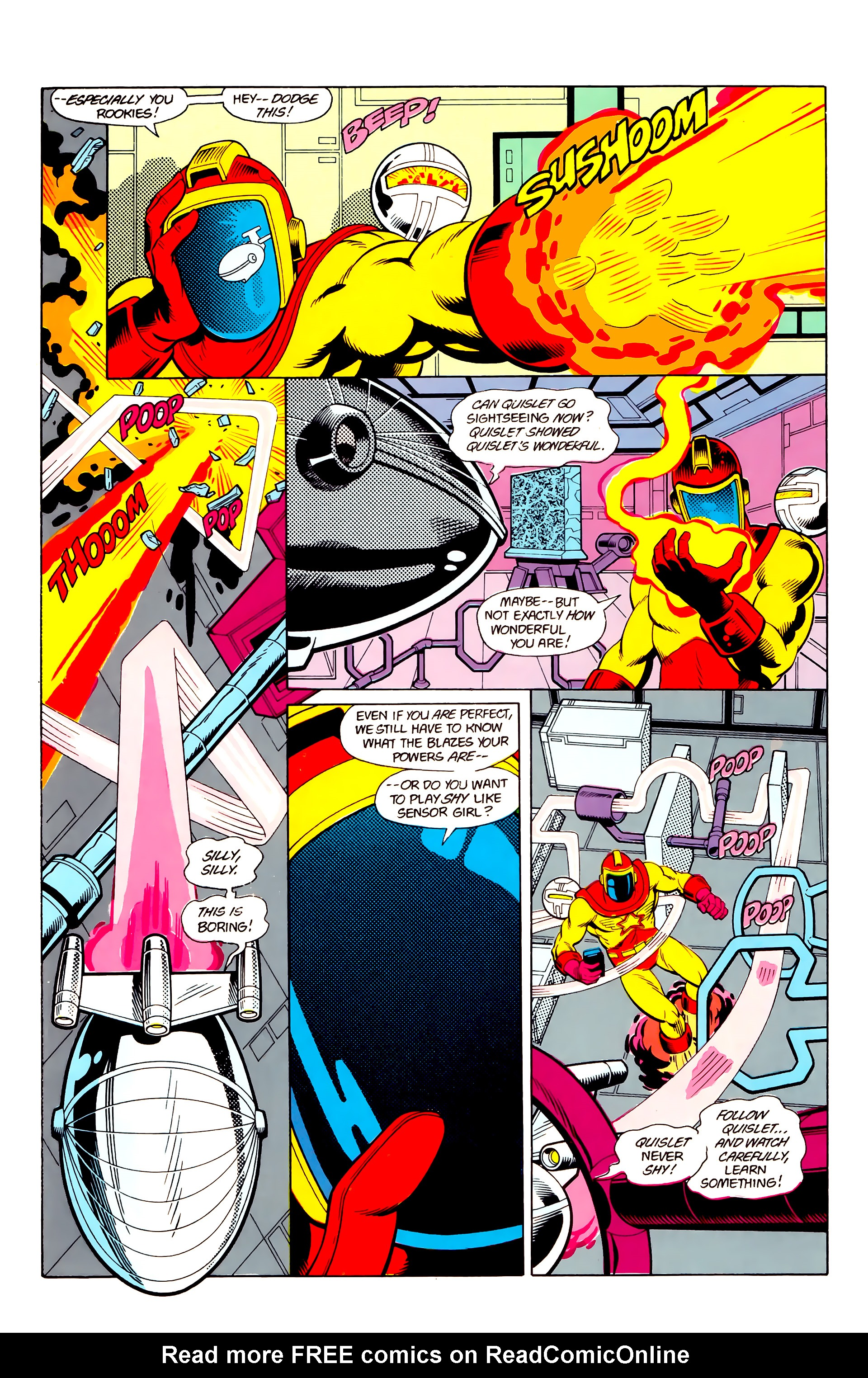 Legion of Super-Heroes (1984) 21 Page 28