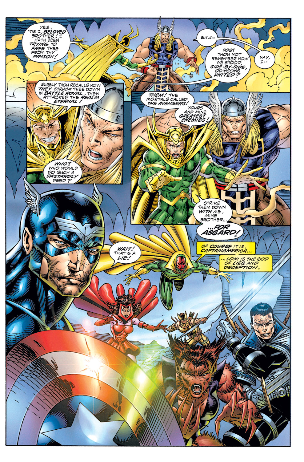 Read online Avengers (1996) comic -  Issue #1 - 25