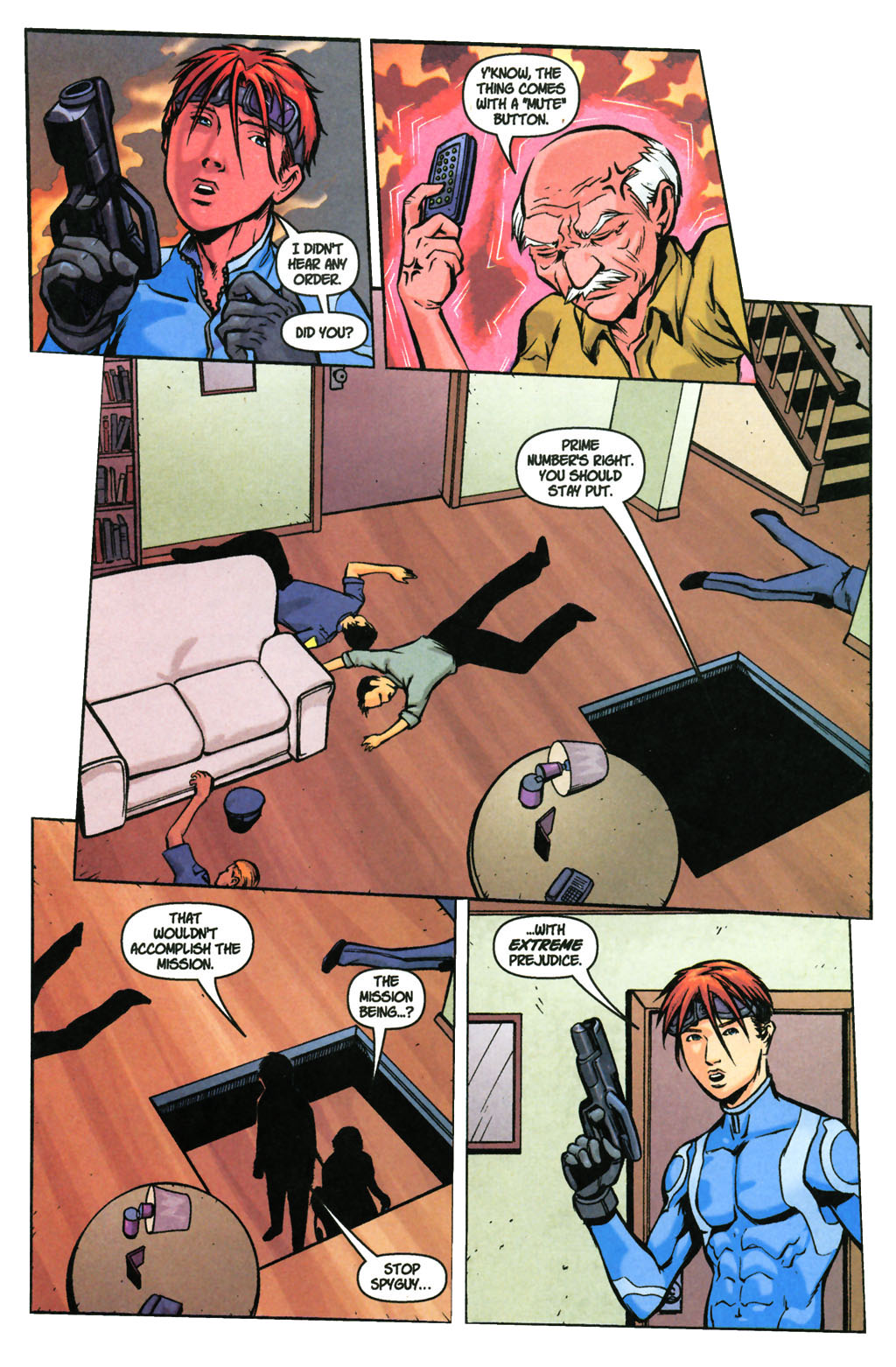 Read online SpyBoy: Final Exam comic -  Issue #3 - 17