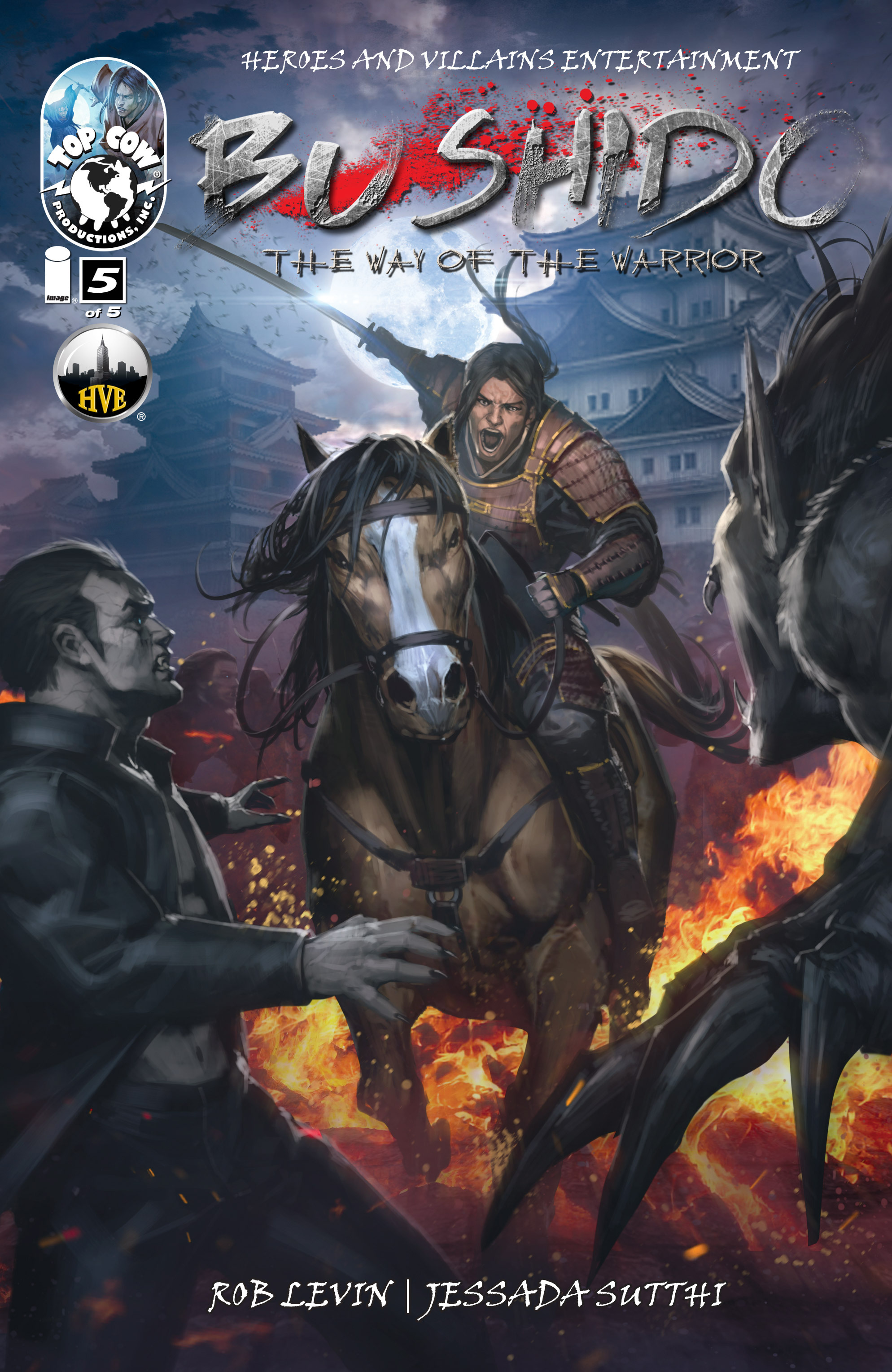 Read online Bushido: The Way of the Warrior comic -  Issue #5 - 1