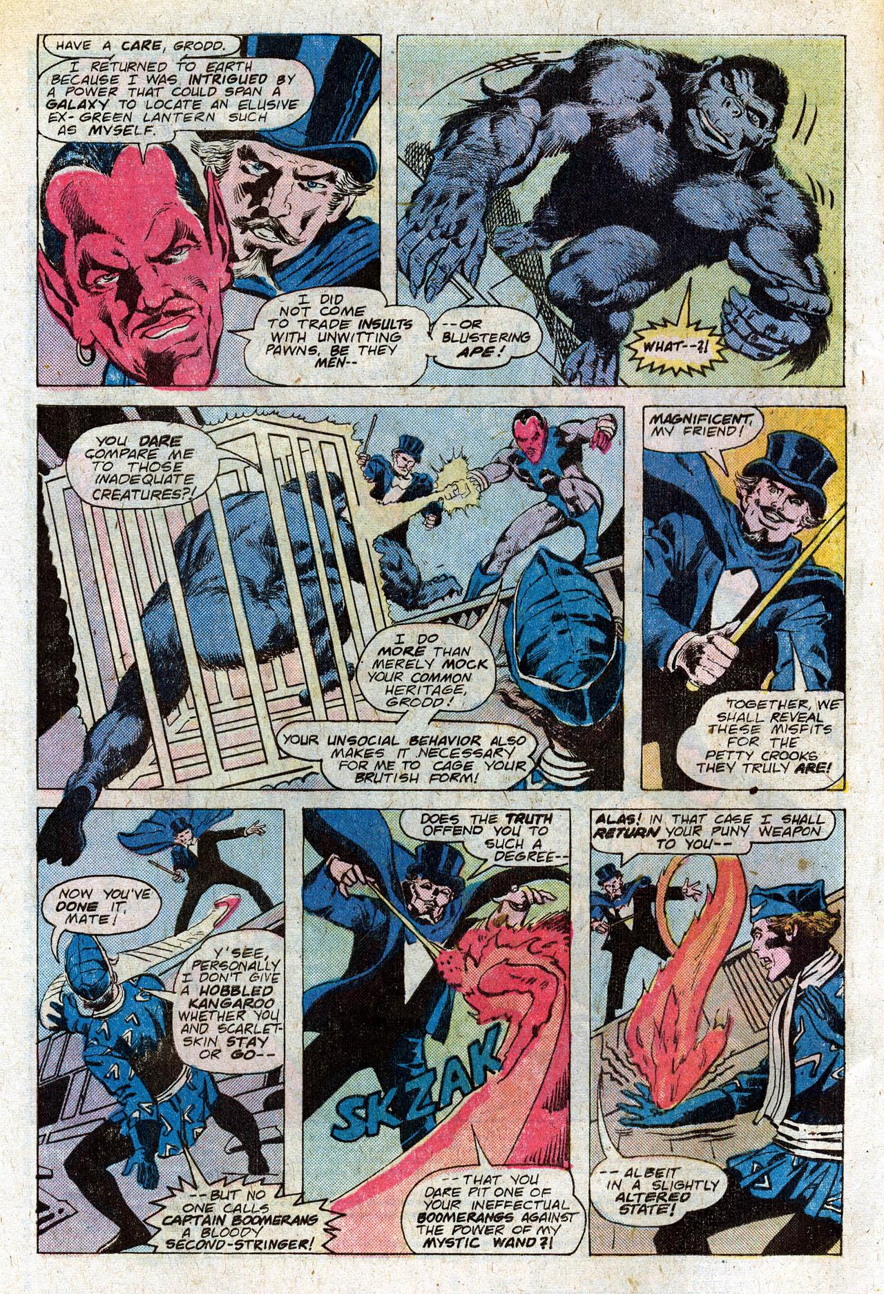 Read online Secret Society of Super-Villains comic -  Issue #4 - 4