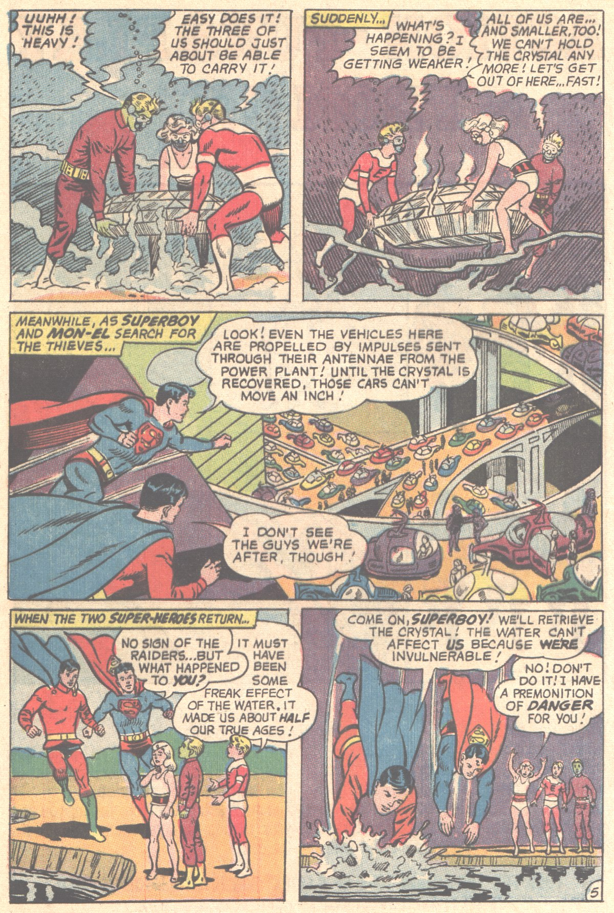 Read online Adventure Comics (1938) comic -  Issue #356 - 8