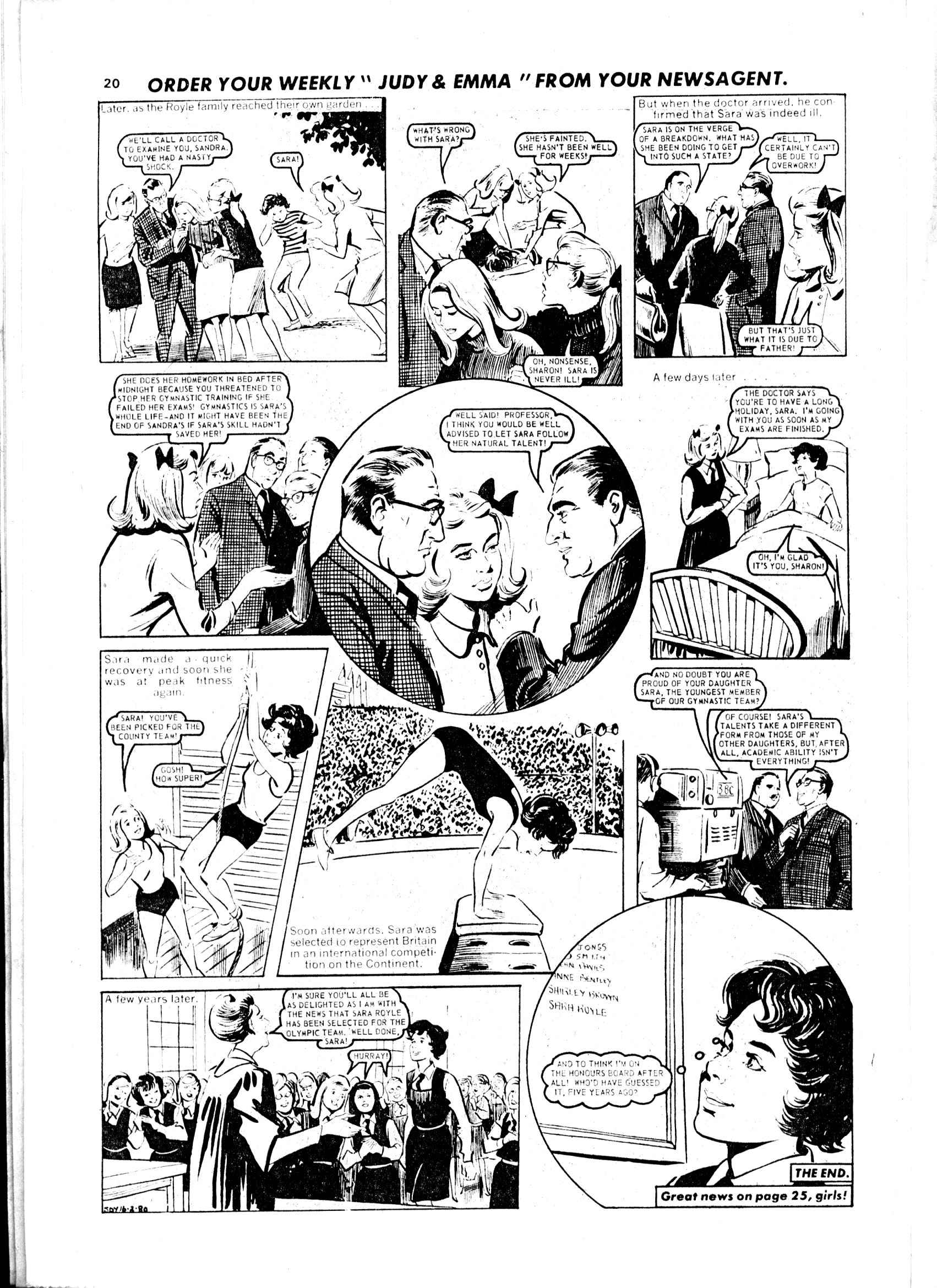 Read online Judy comic -  Issue #1049 - 20